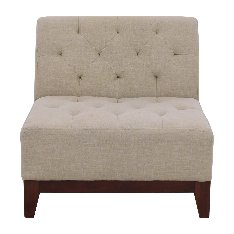 buy Macy's Tufted Slipper Chair Macy's