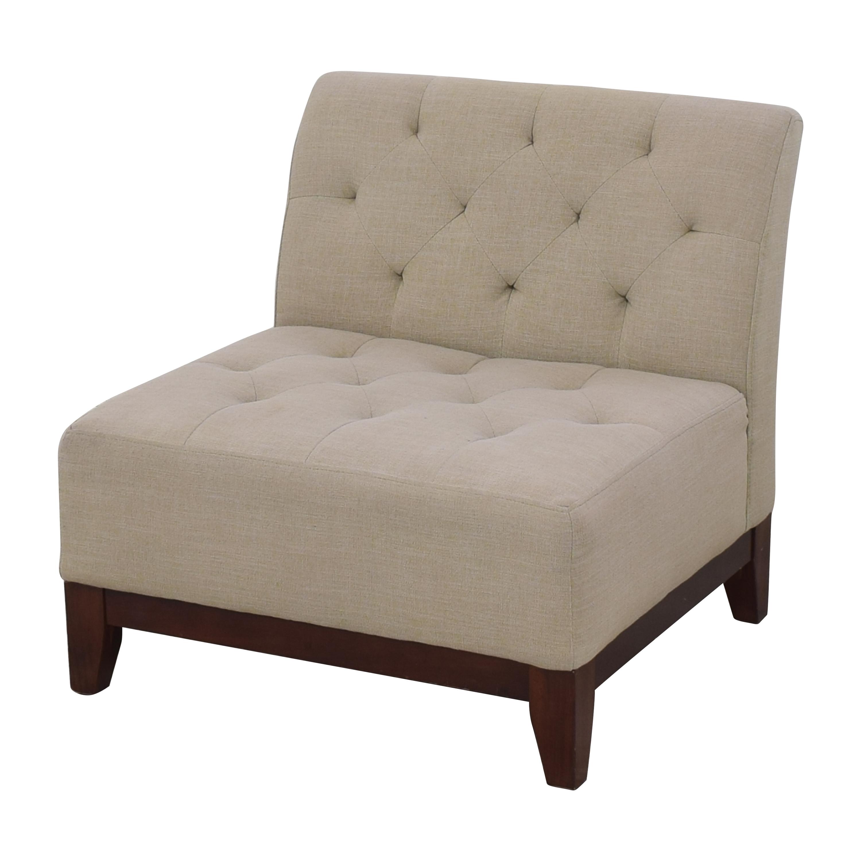 shop Macy's Macy's Tufted Slipper Chair online