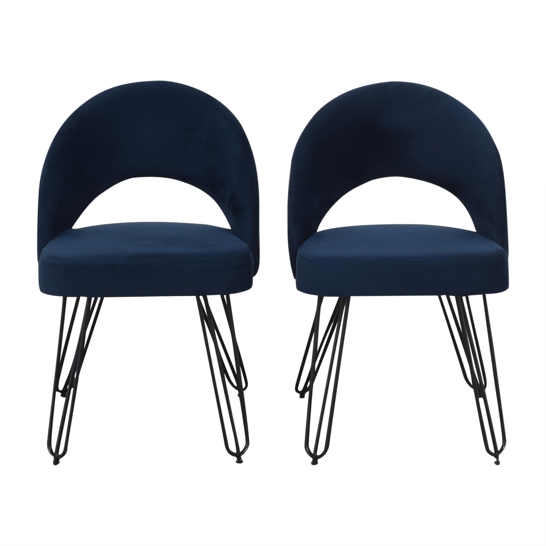 shop Safavieh Jora Retro Side Chairs Safavieh Dining Chairs