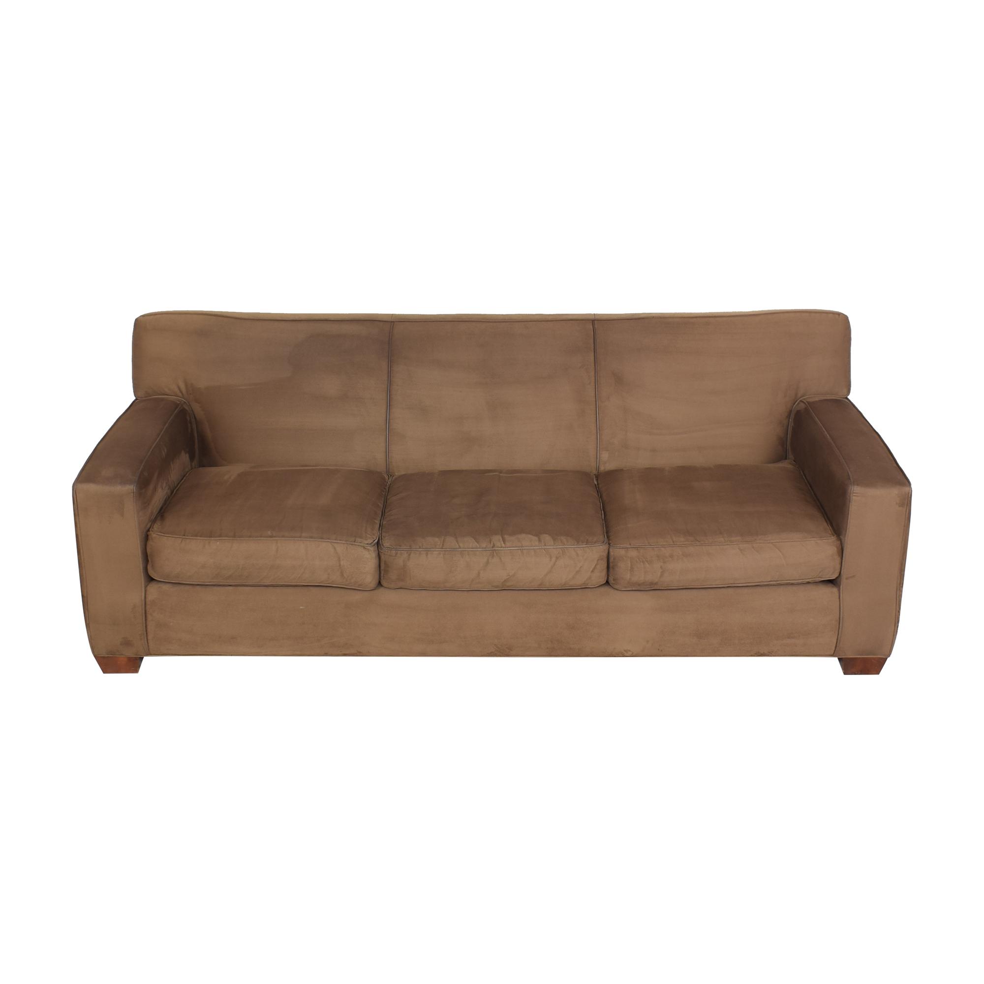 Crate & Barrel Crate & Barrel Three Cushion Sofa coupon