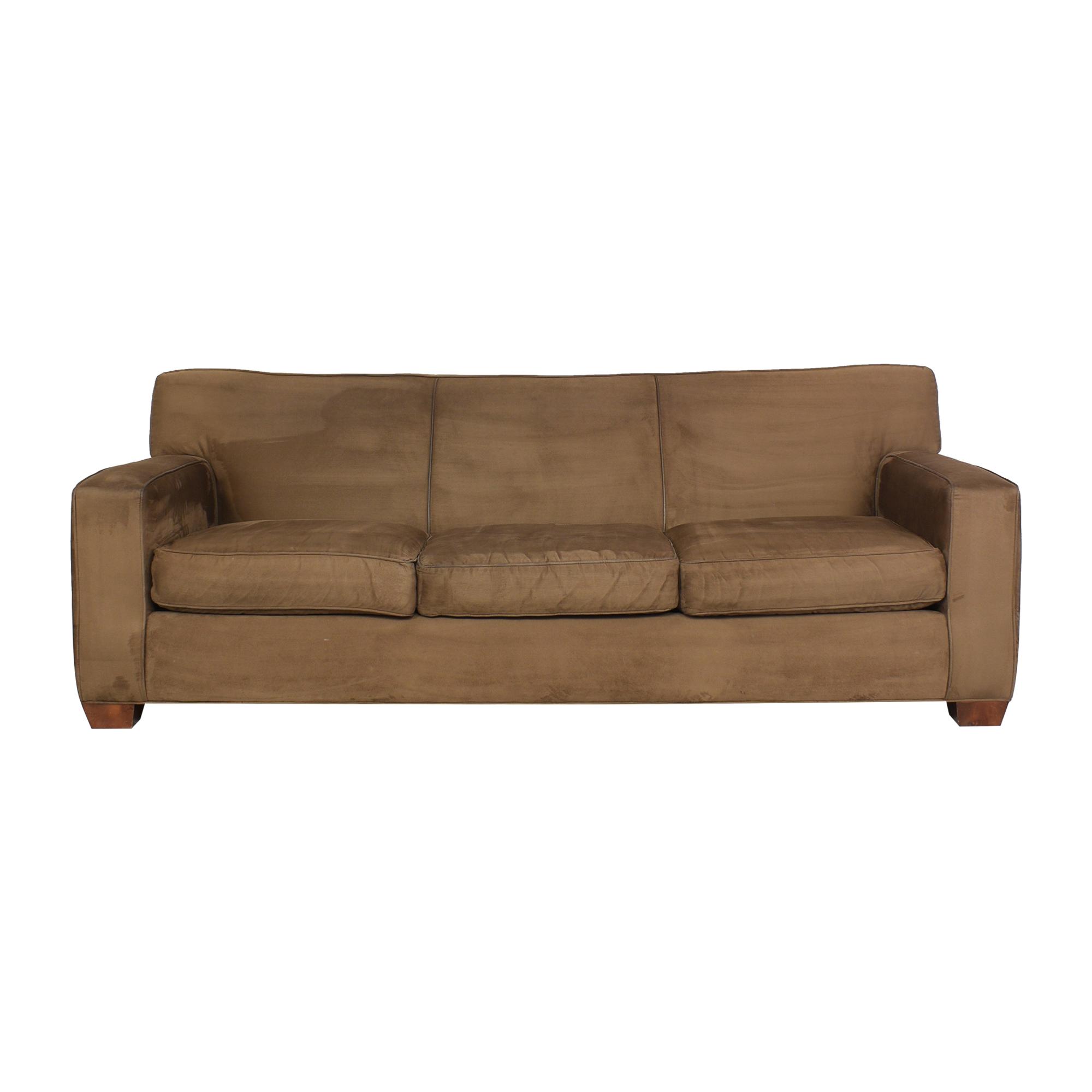 Crate & Barrel Crate & Barrel Three Cushion Sofa Sofas