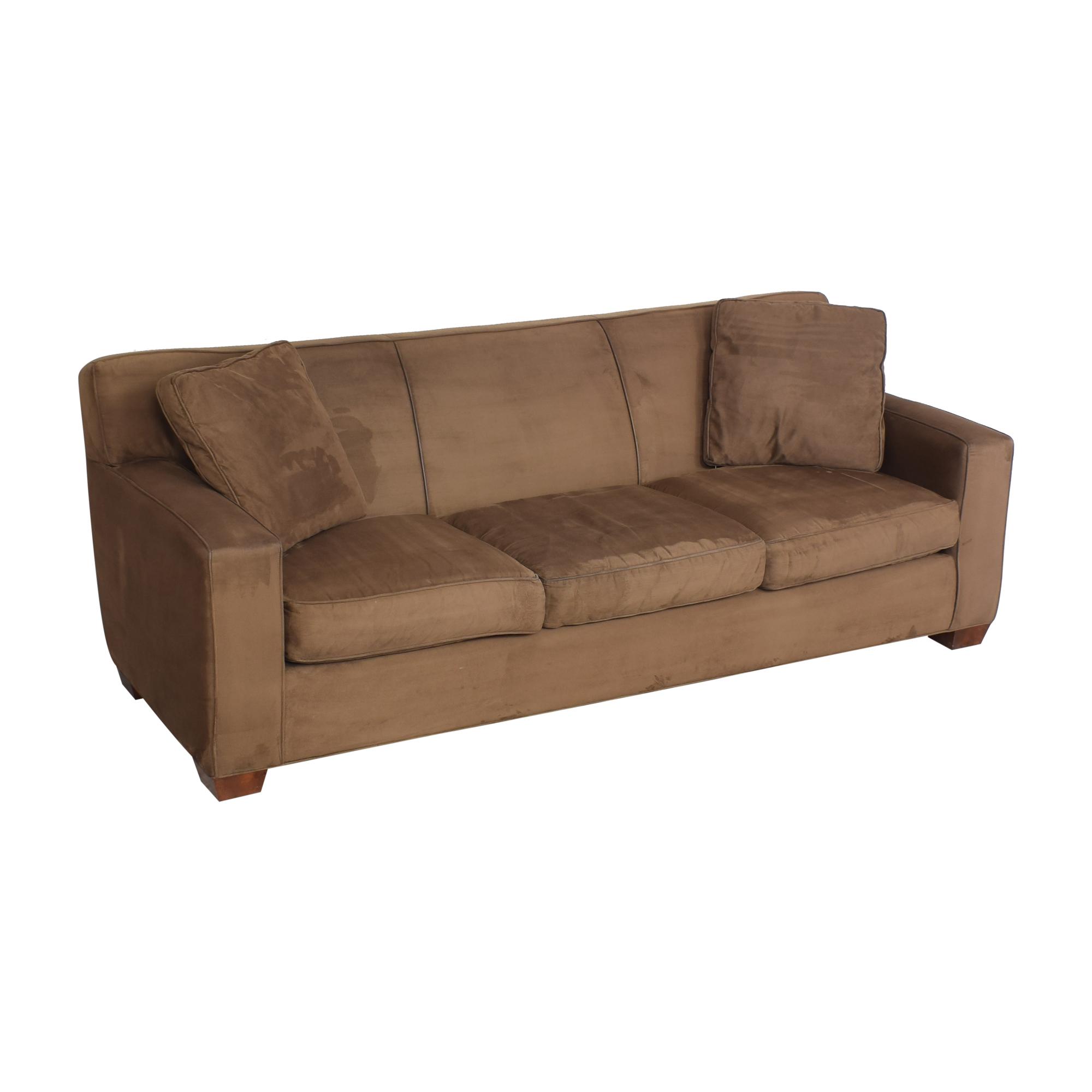 buy Crate & Barrel Crate & Barrel Three Cushion Sofa online