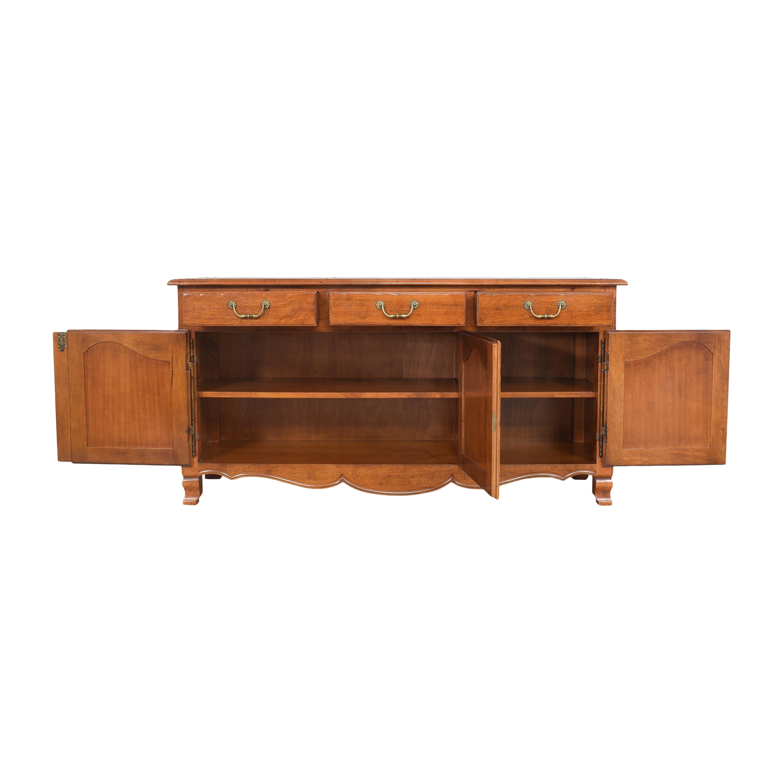 Bloomingdale's Bloomingdale's Three Door Sideboard Cabinets & Sideboards