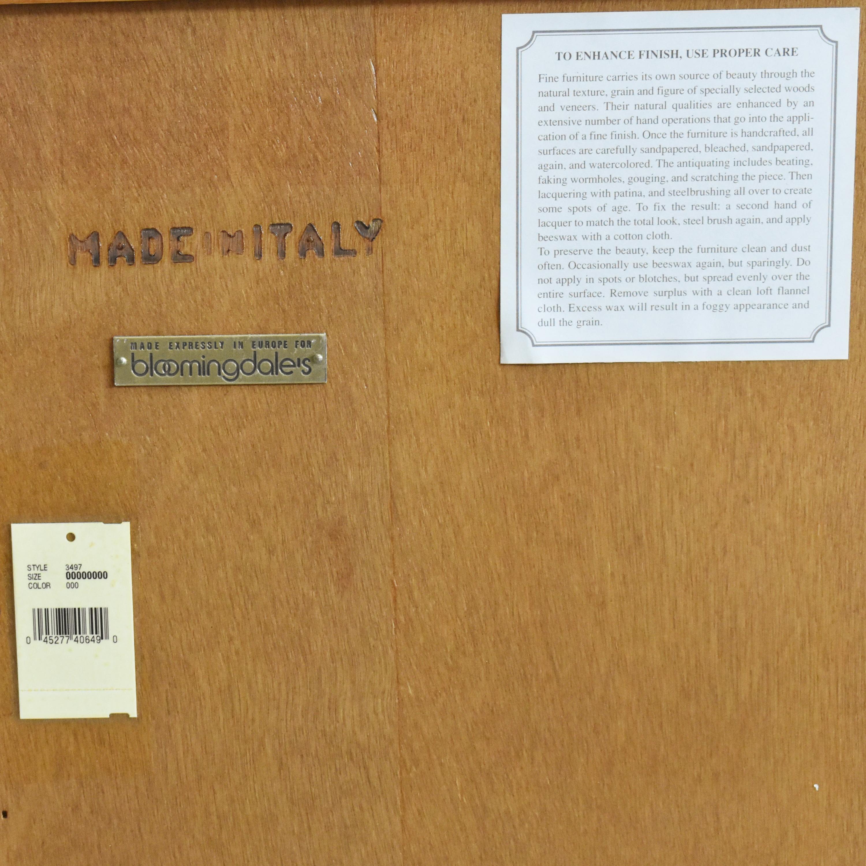 Bloomingdale's Bloomingdale's Three Door Sideboard dimensions
