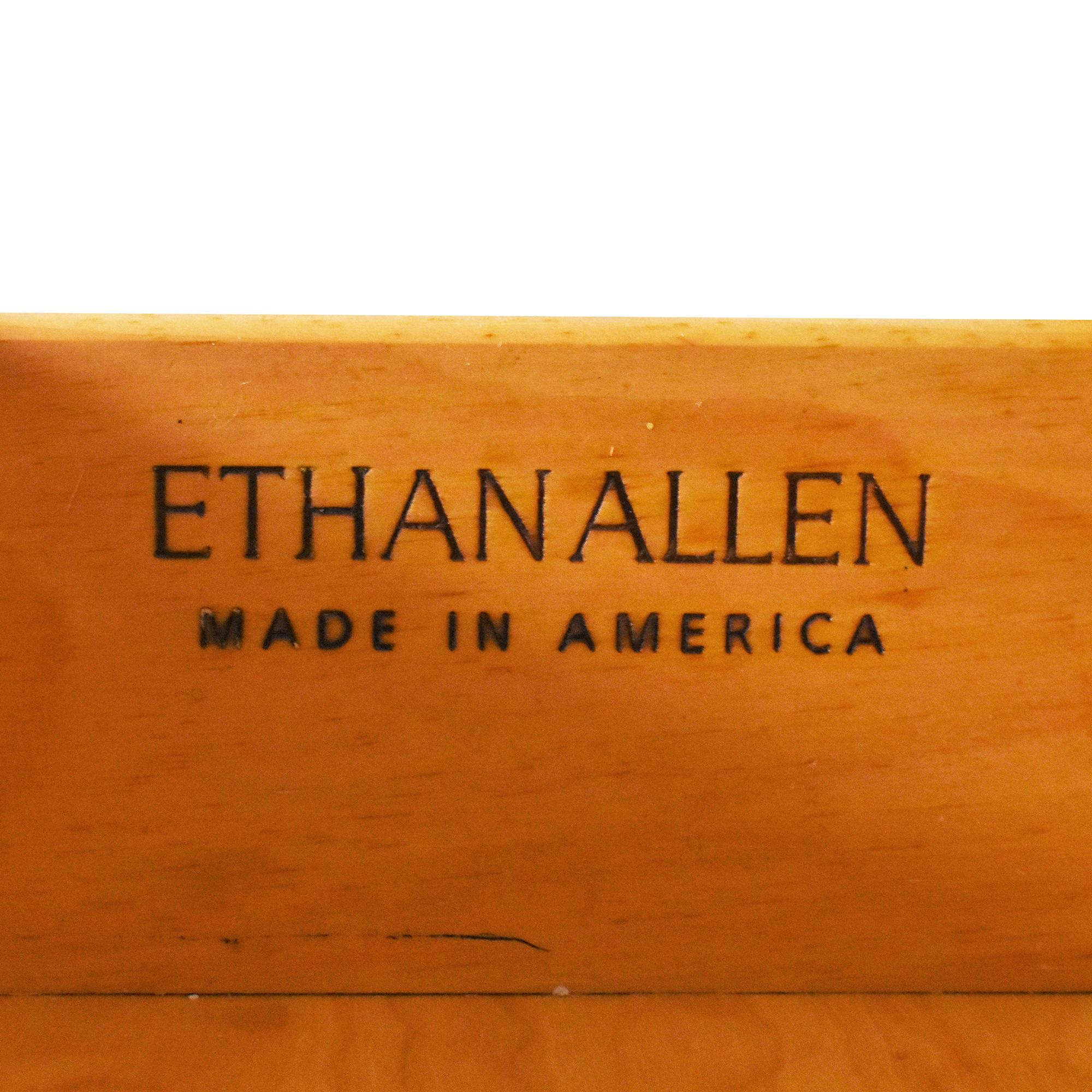 shop Ethan Allen Farmhouse Cabinet with Hutch Ethan Allen
