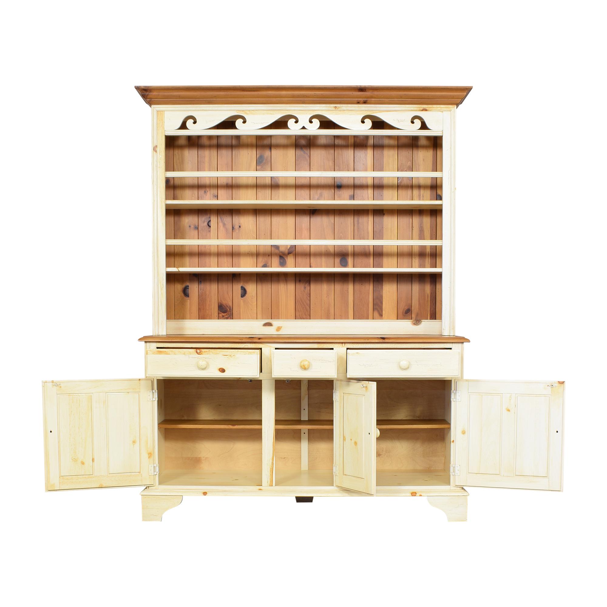 Ethan Allen Ethan Allen Farmhouse Cabinet with Hutch