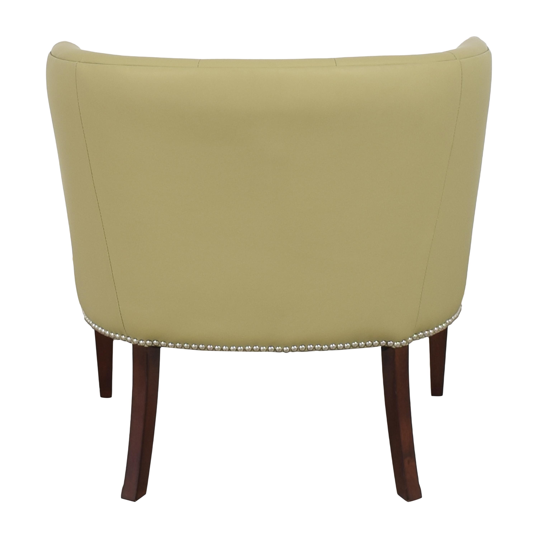 shop Global Views Klismos Tufted Chair Global Views Accent Chairs