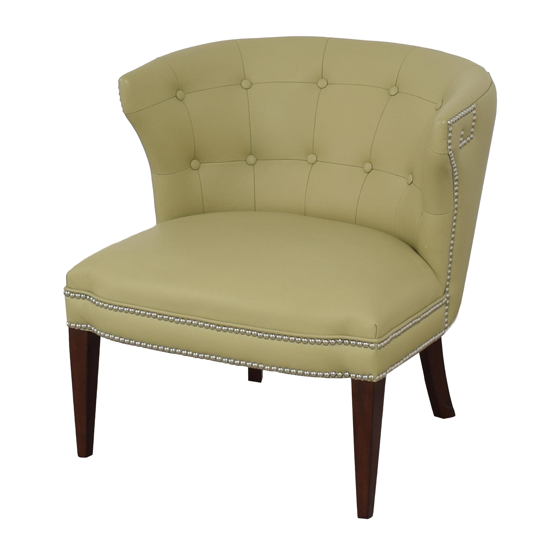 Global Views Klismos Tufted Chair / Accent Chairs