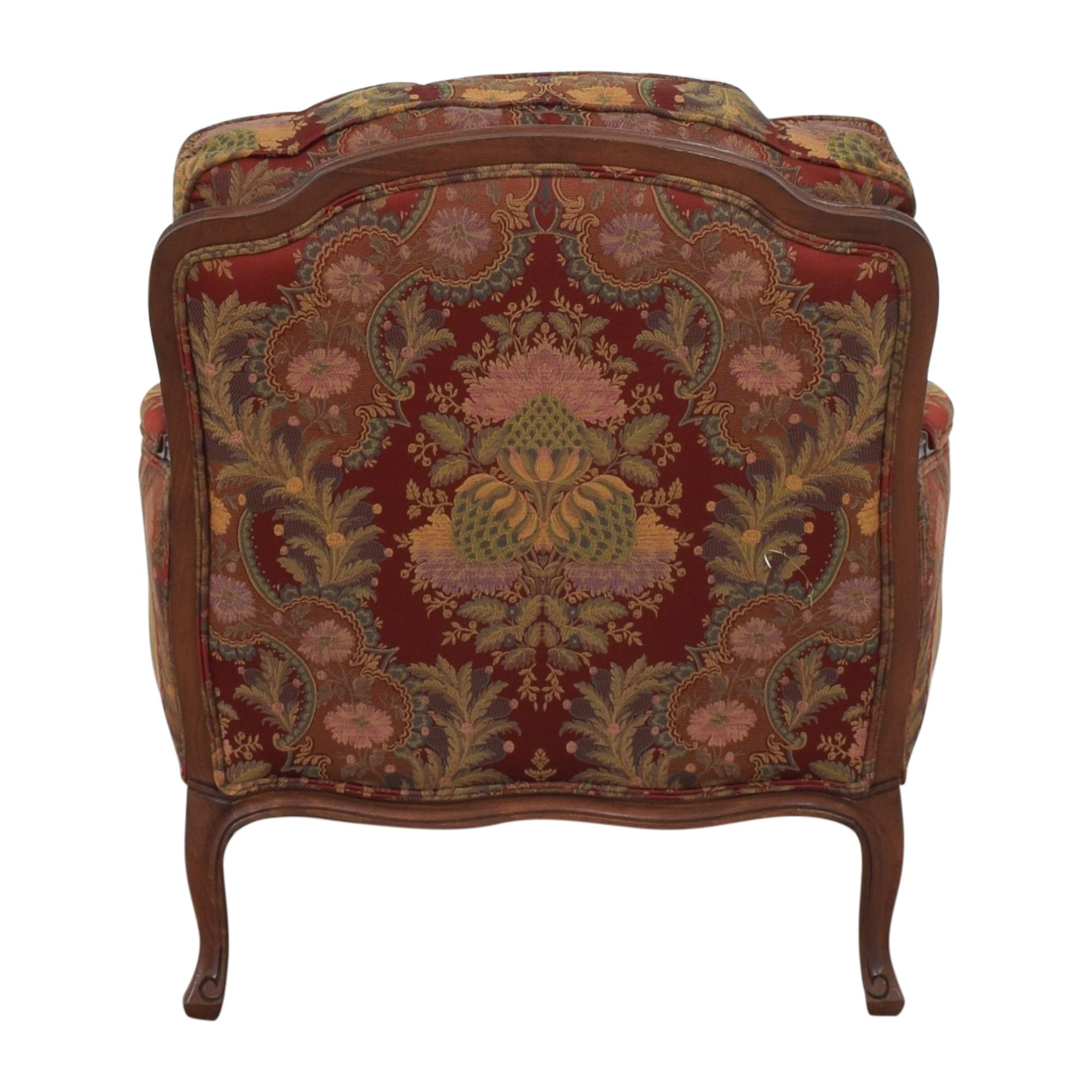 shop Ethan Allen Versailles Chair with Ottoman Ethan Allen Chairs