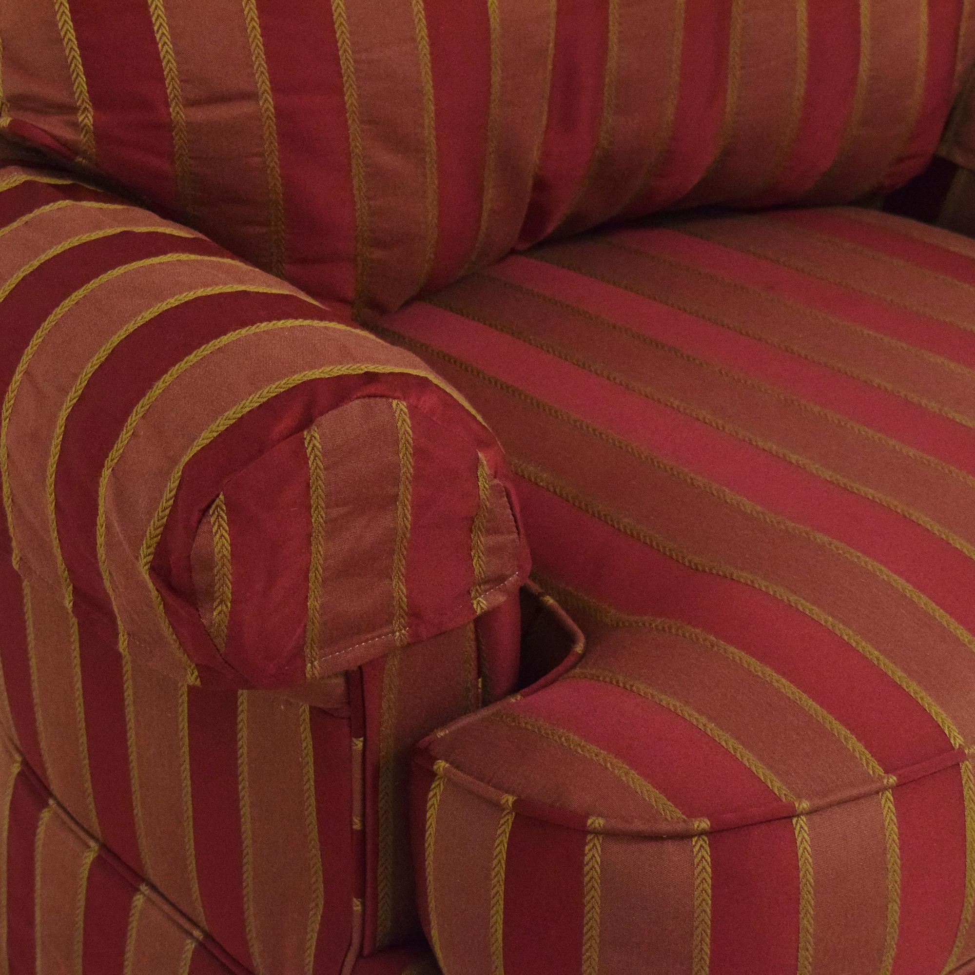 Ethan Allen Ethan Allen Skirted Swivel Chair coupon