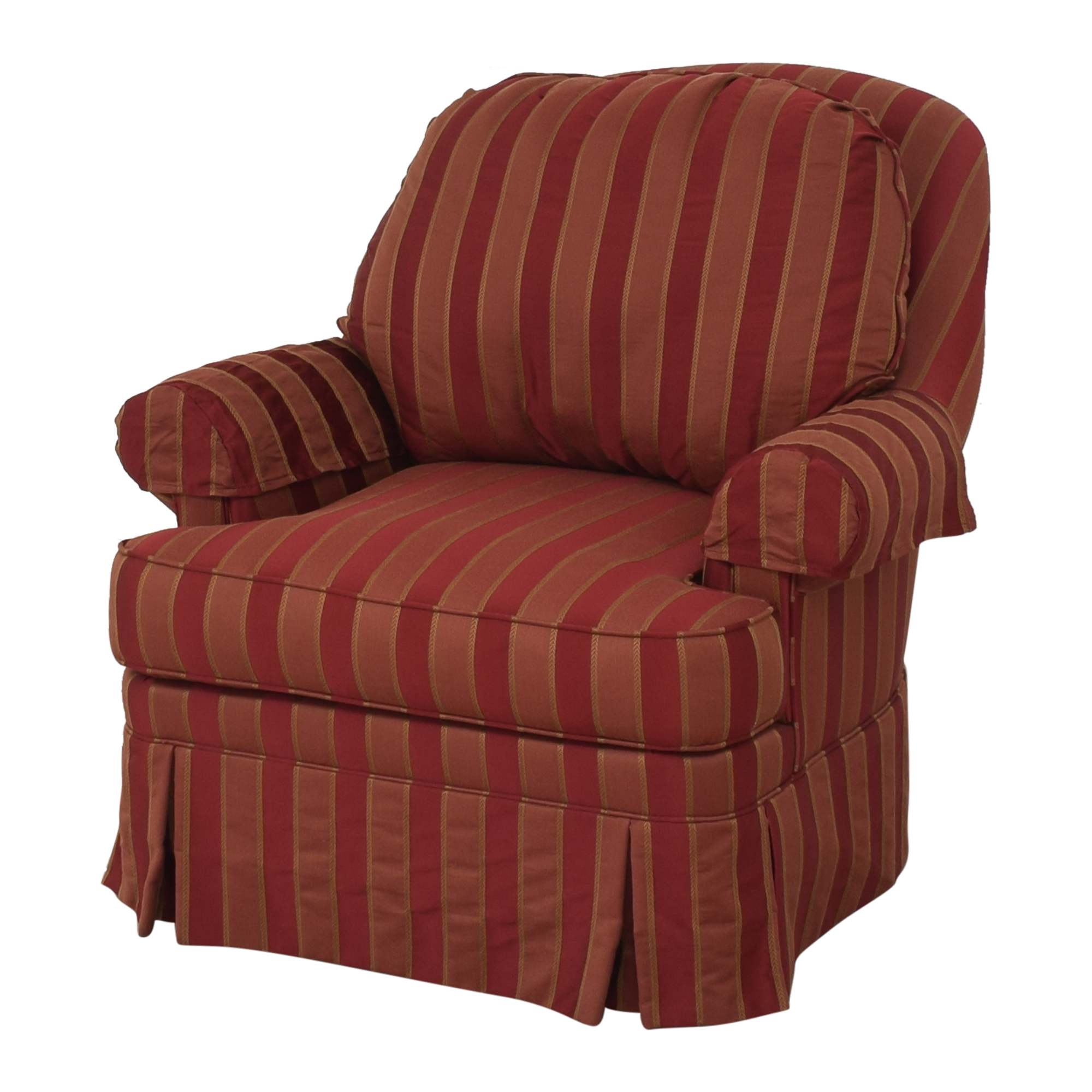 Ethan Allen Ethan Allen Skirted Swivel Chair Chairs