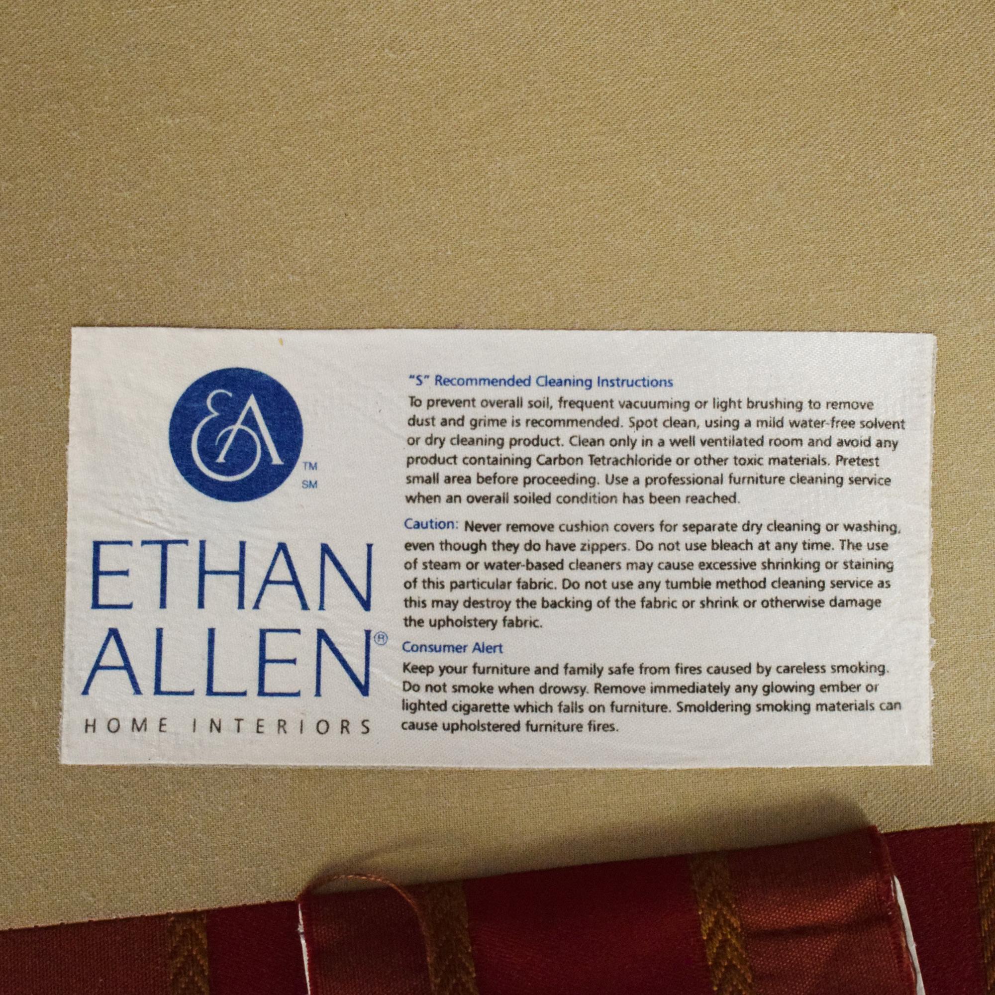 Ethan Allen Ethan Allen Skirted Swivel Chair nyc
