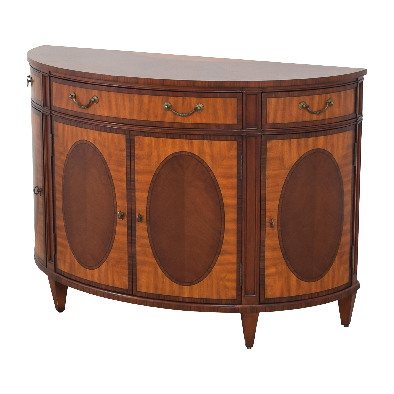 buy Ethan Allen Townhouse Regan Demilune Buffet Ethan Allen Cabinets & Sideboards