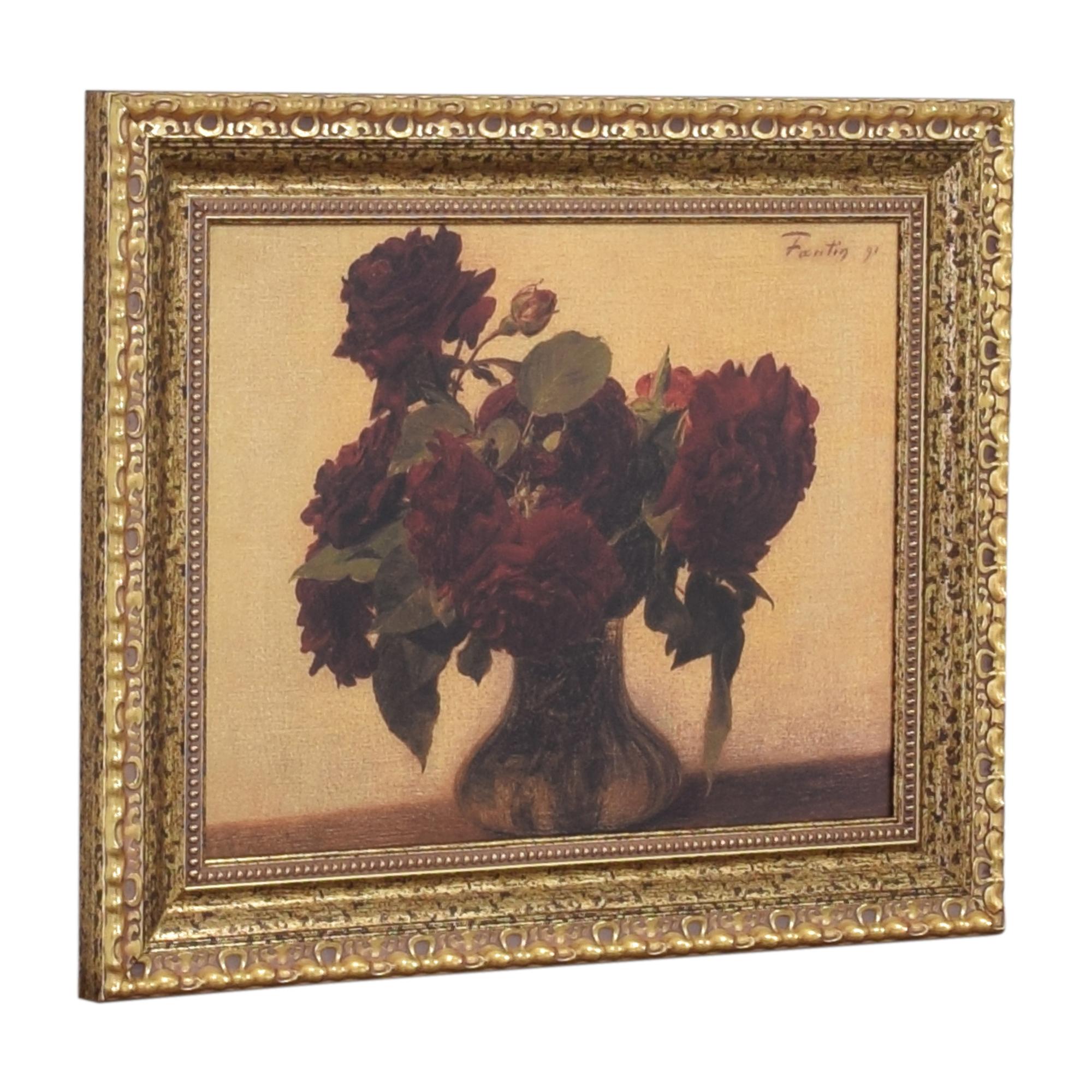 buy Ethan Allen Roses Wall Art Ethan Allen Wall Art