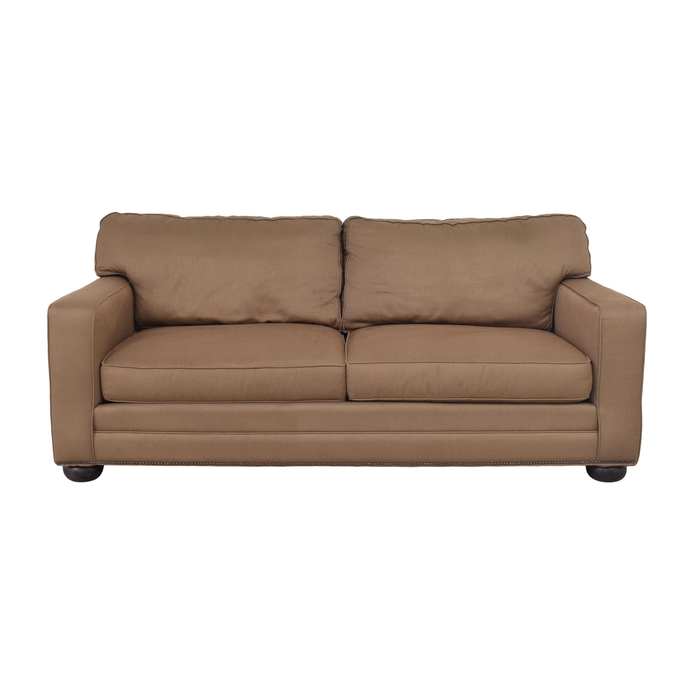 buy Bassett Furniture Bassett Furniture Two Cushion Track Arm Sofa online