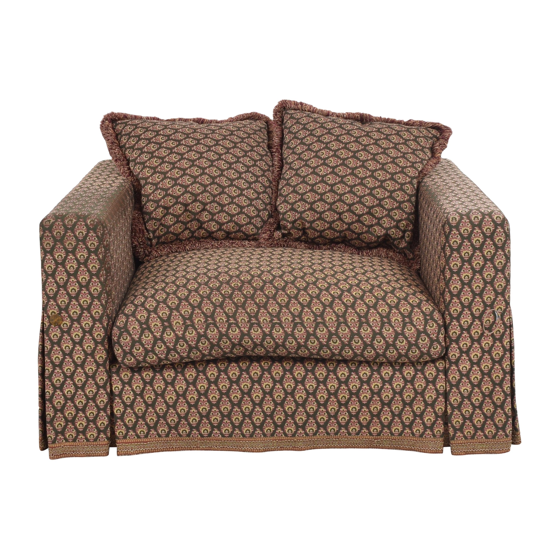 buy  Custom Skirted Chair and a Half online