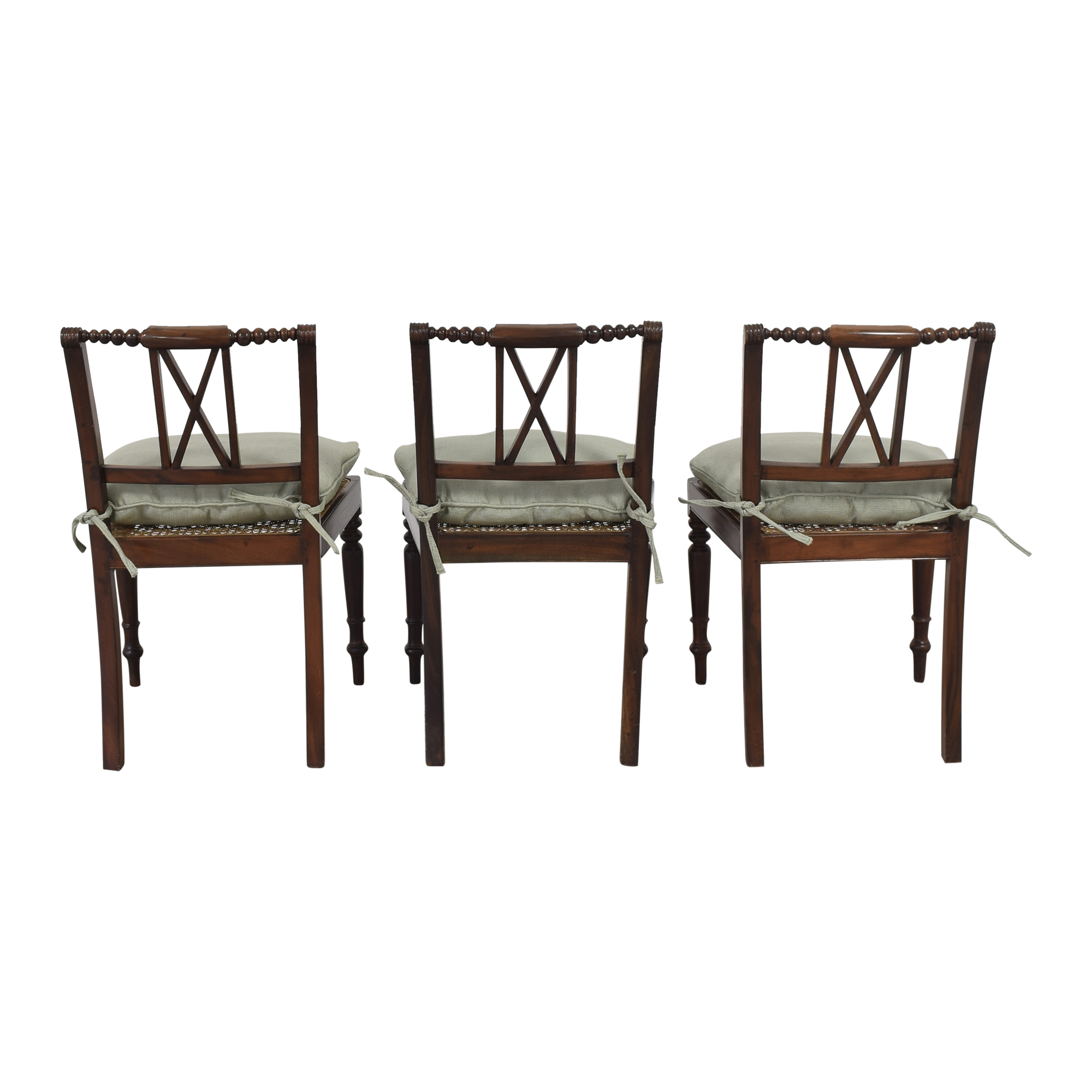 buy X Back Dining Side Chairs with Cushions  Dining Chairs