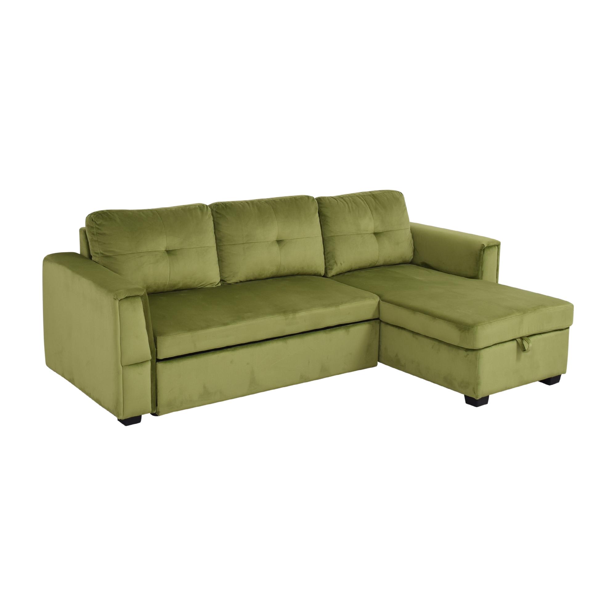 Wayfair Wayfair Mercer41 Nelda Round Arm Sleeper Sofa nyc