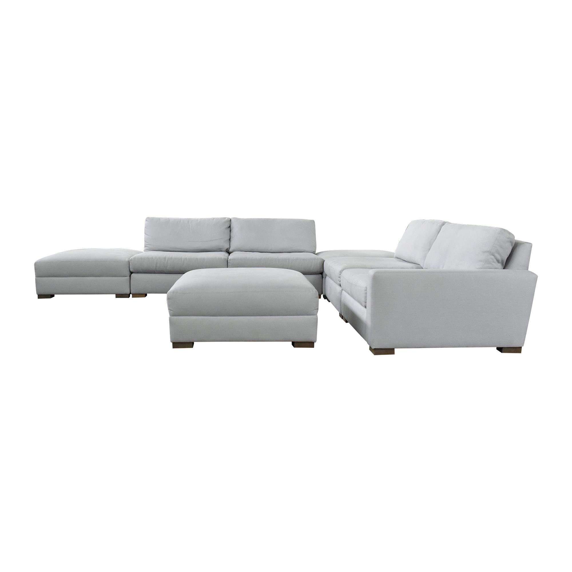 buy Restoration Hardware Maxwell Modular Seven-Piece Sectional Sofa Restoration Hardware Sectionals