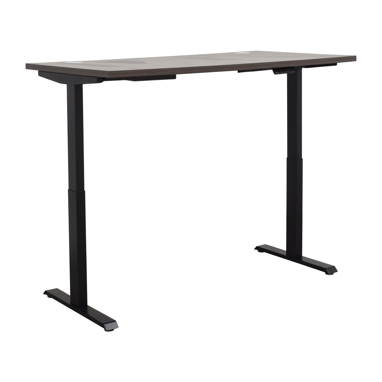 J-Star Motion J-Star Motion Standing Desk brown and black
