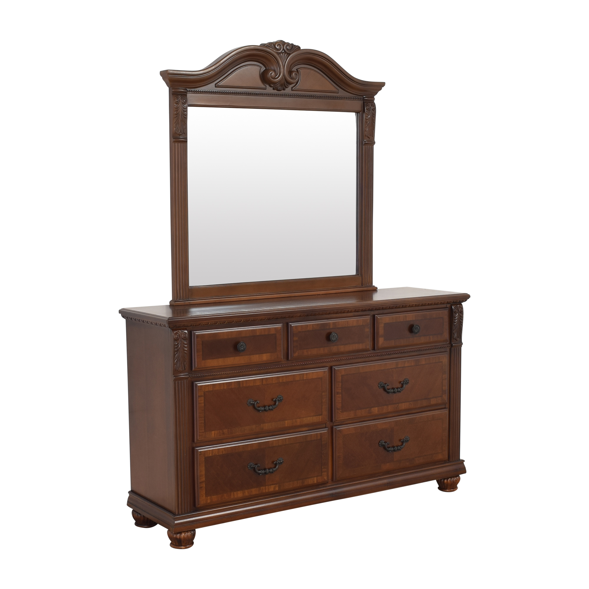 Raymour & Flanigan Ashbury Dresser with Mirror / Storage