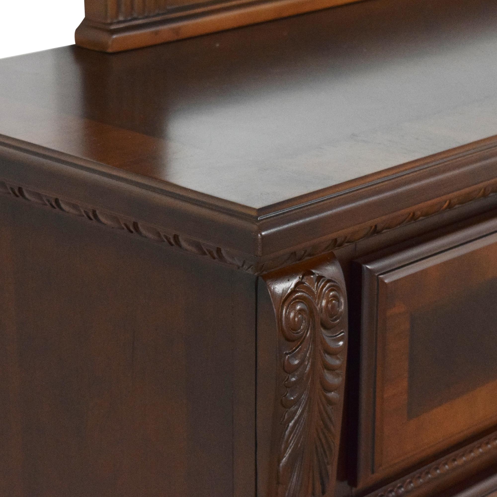 buy Raymour & Flanigan Ashbury Dresser with Mirror Raymour & Flanigan Dressers