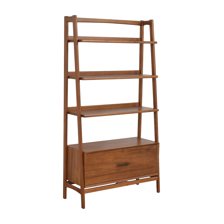 West Elm West Elm Mid-Century Bookshelf with Drawer price