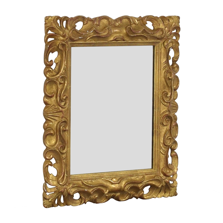 Ornate Framed Wall Mirror ma