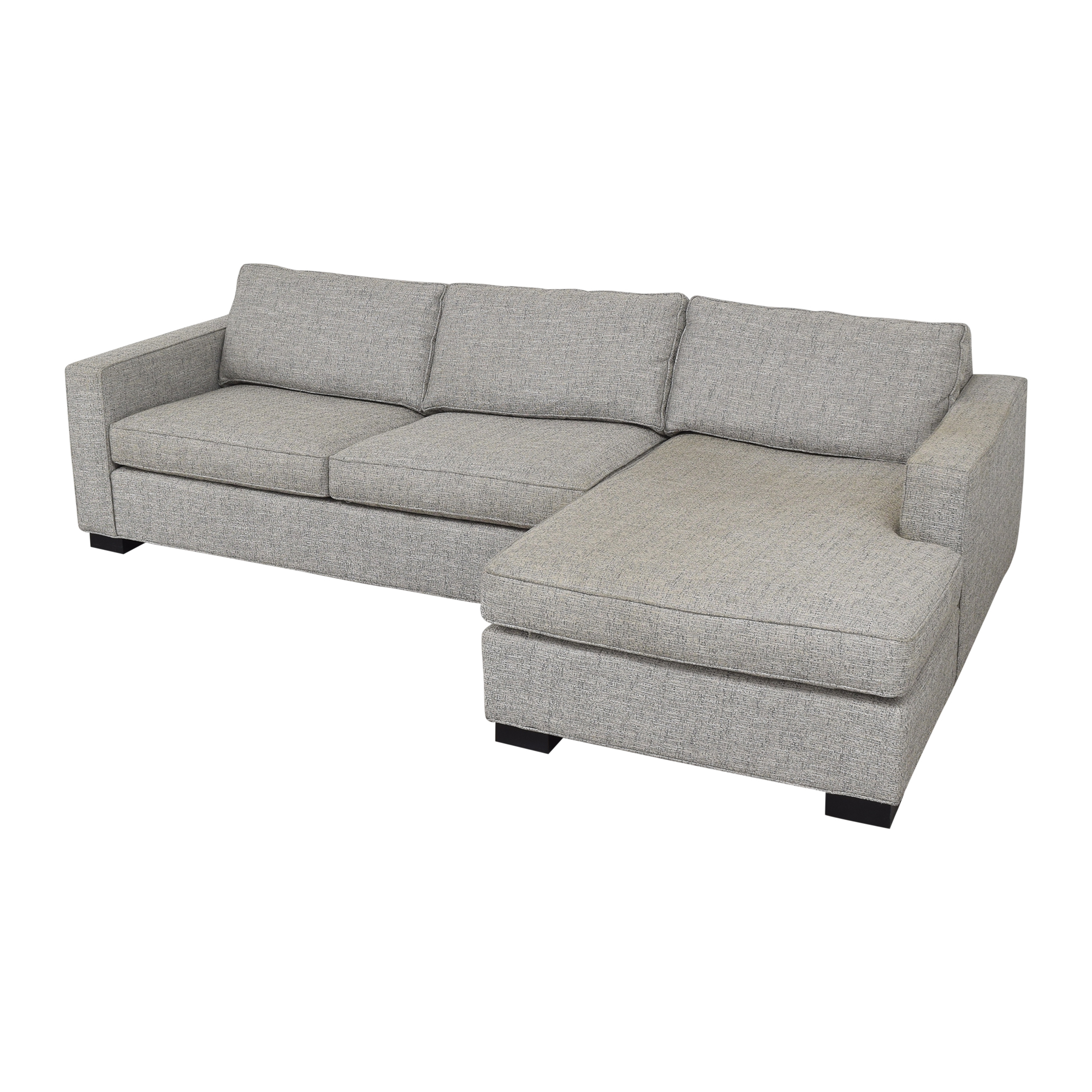 Mitchell Gold + Bob Williams Chaise Sectional Mitchell Gold + Bob Williams