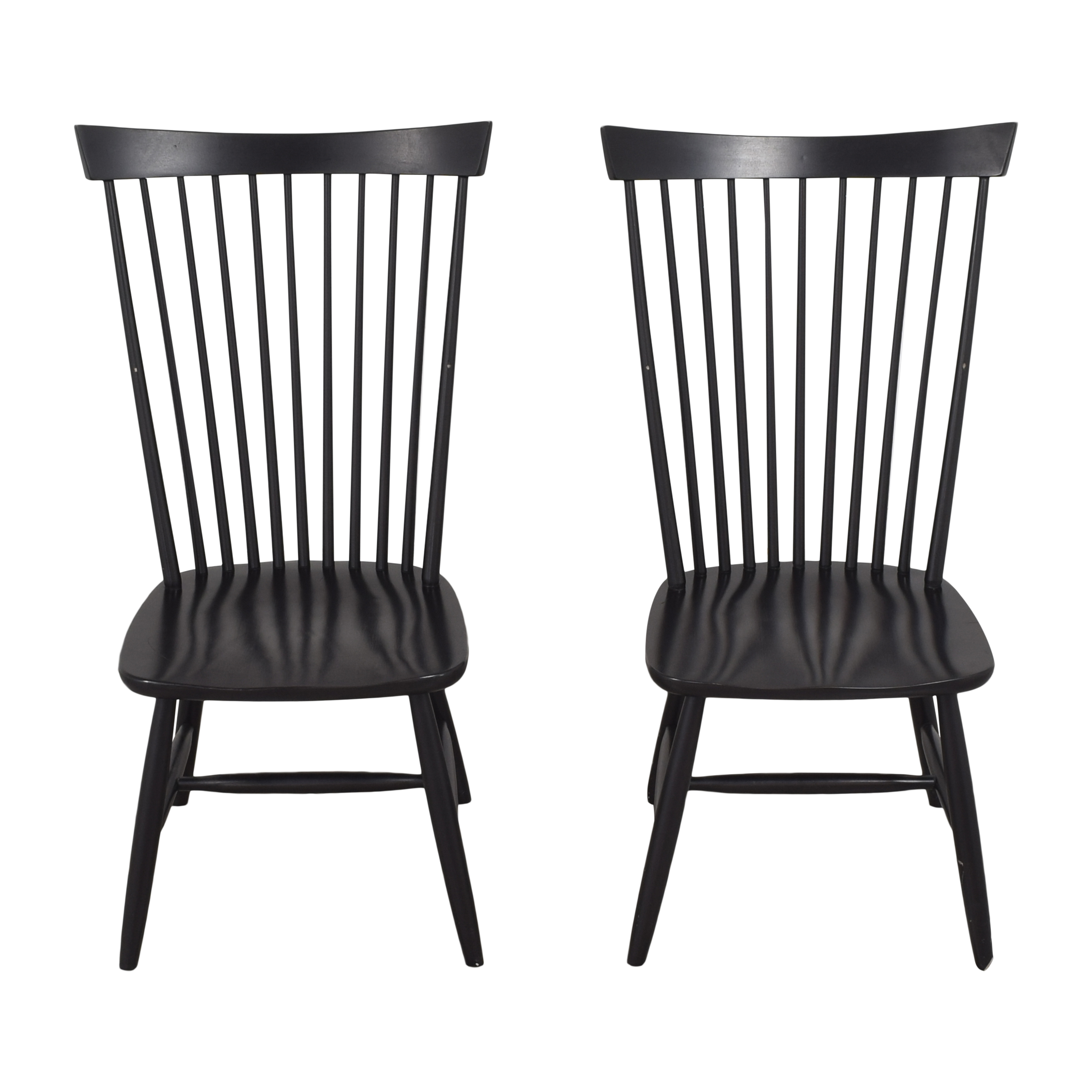 Crate & Barrel Crate & Barrel Marlow II Dining Chairs dimensions