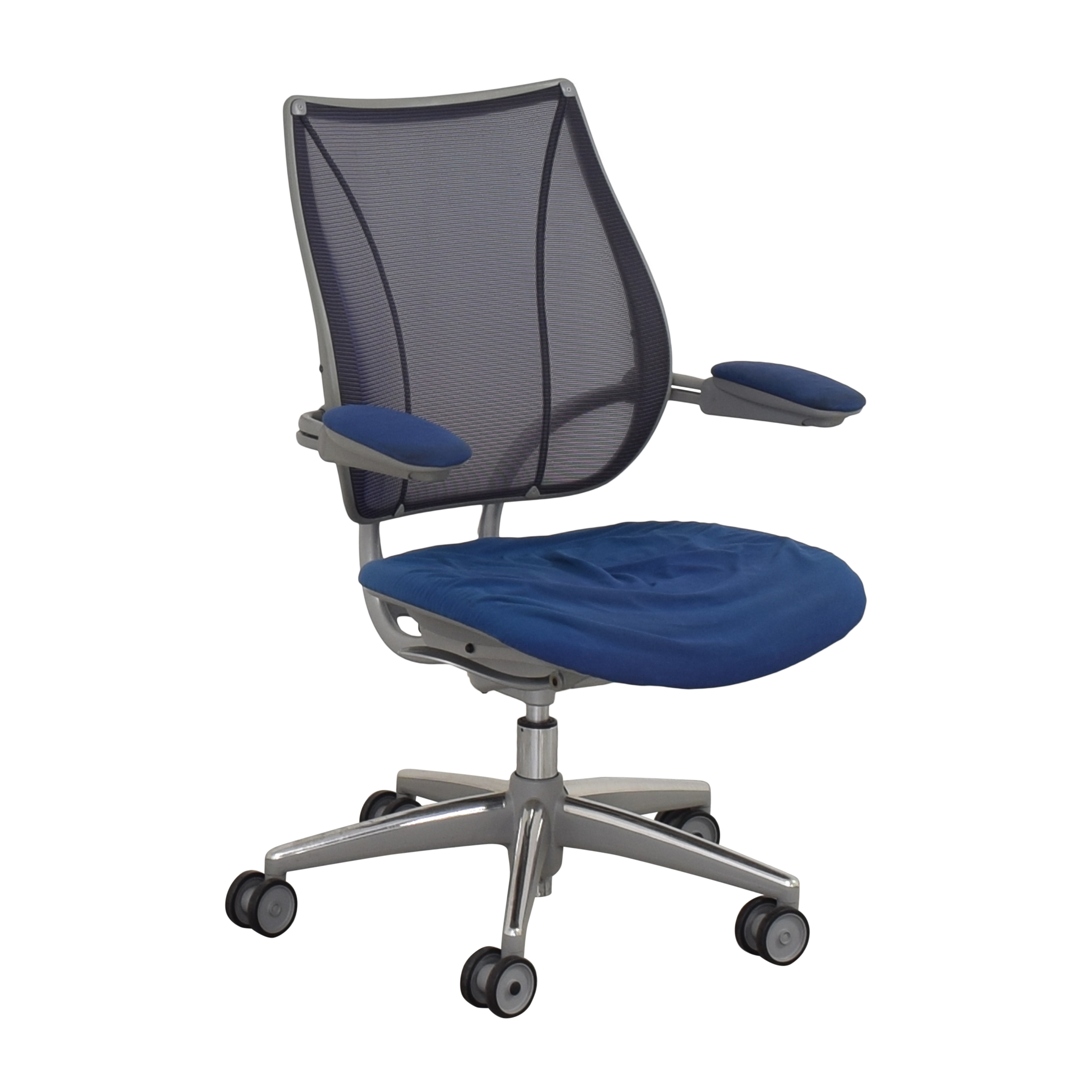 Humanscale Humanscale Liberty Swivel Chair blue and gray