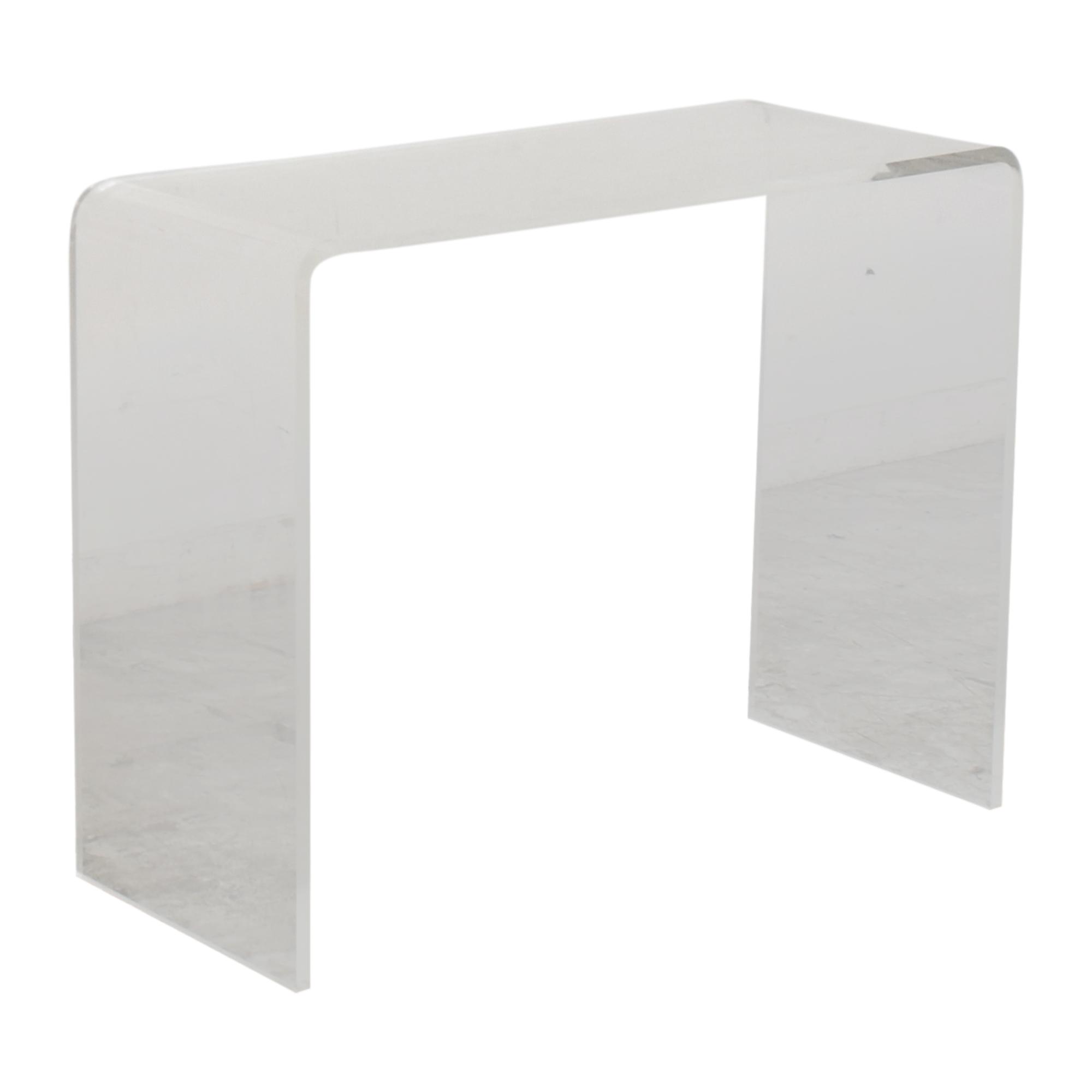 shop CB2 Peekaboo Console Table CB2 Tables