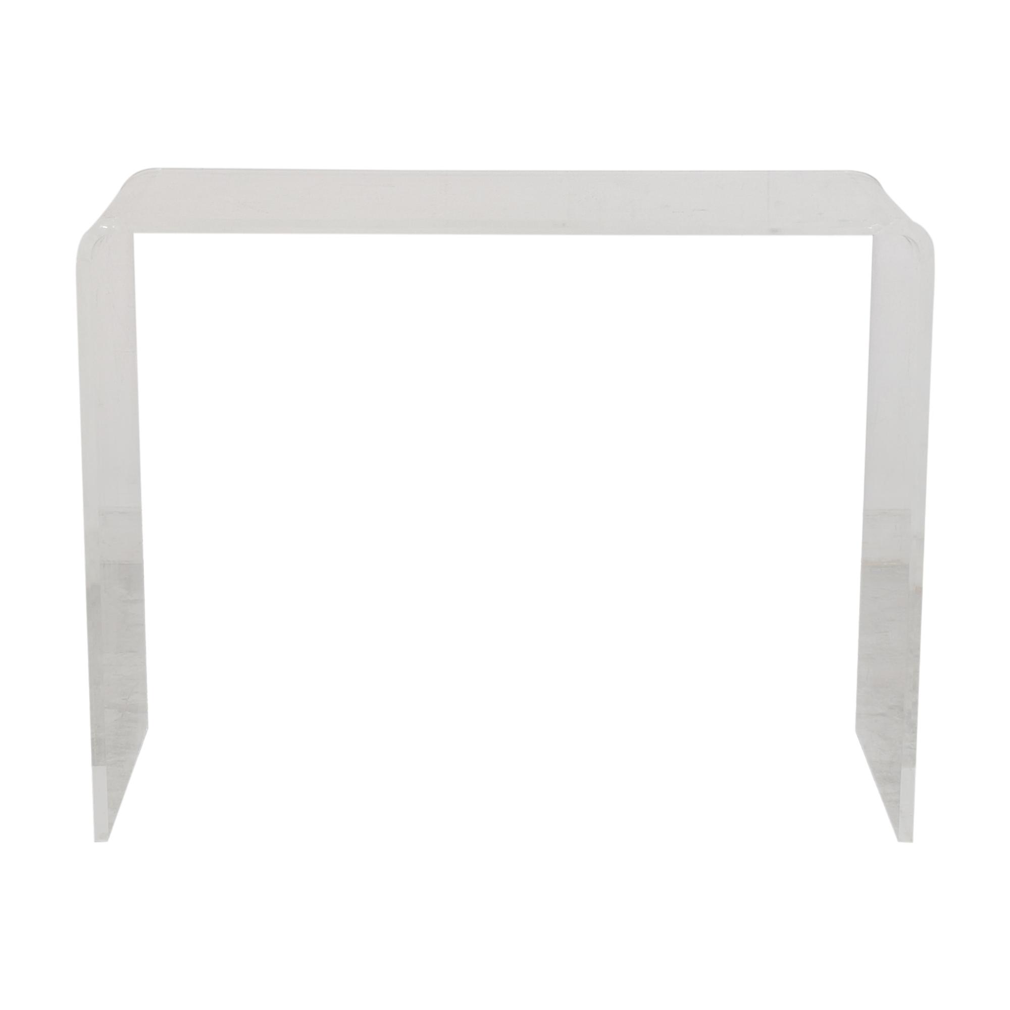 CB2 CB2 Peekaboo Console Table on sale