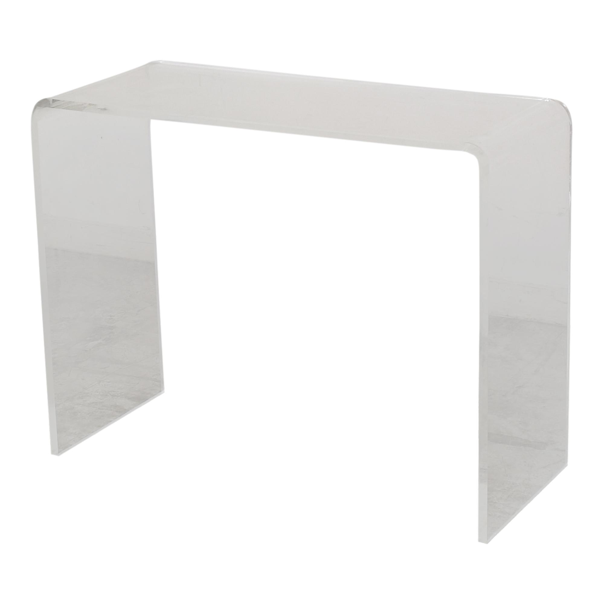 shop CB2 Peekaboo Console Table CB2