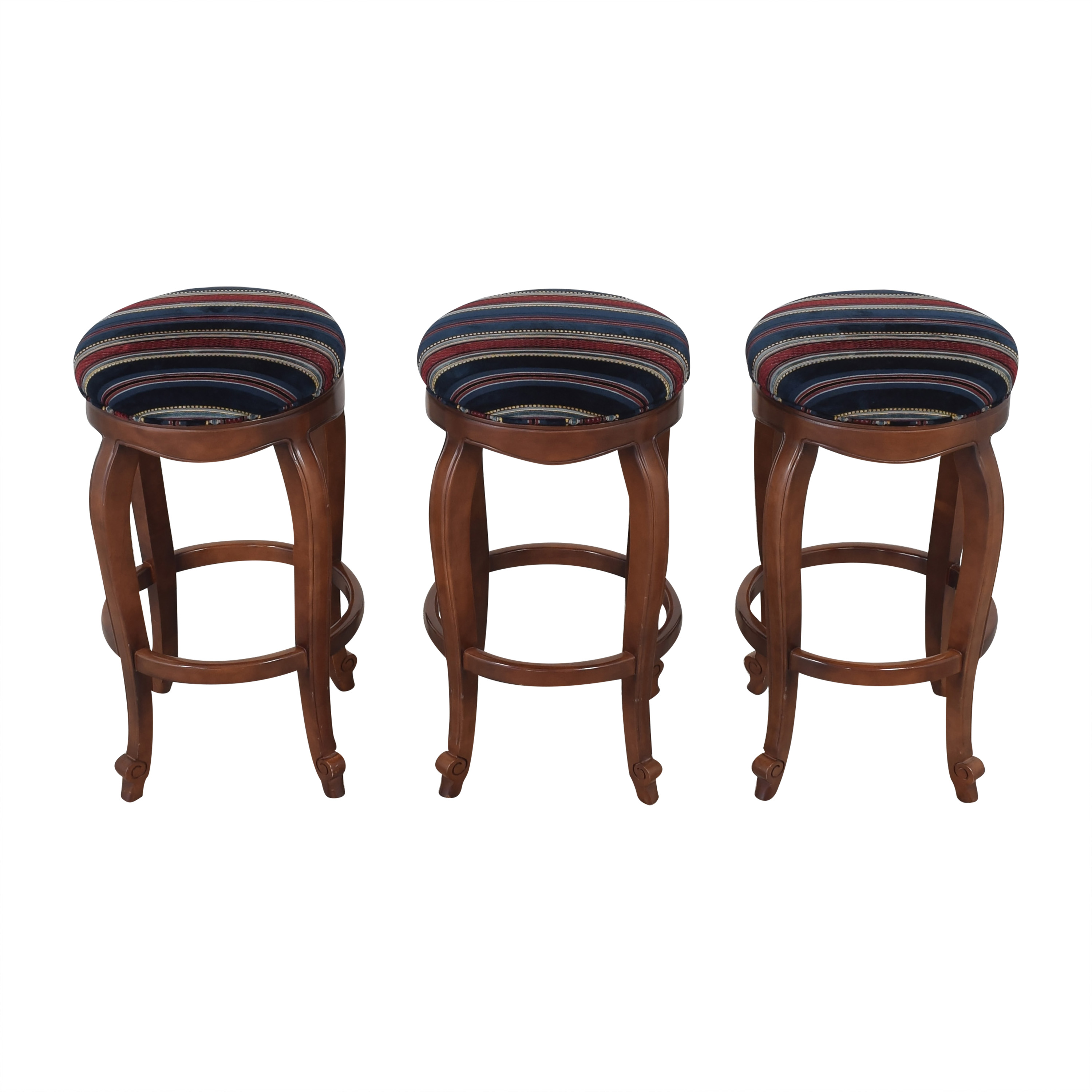 Hancock and Moore Hancock and Moore Burberry Bar Stools  ct