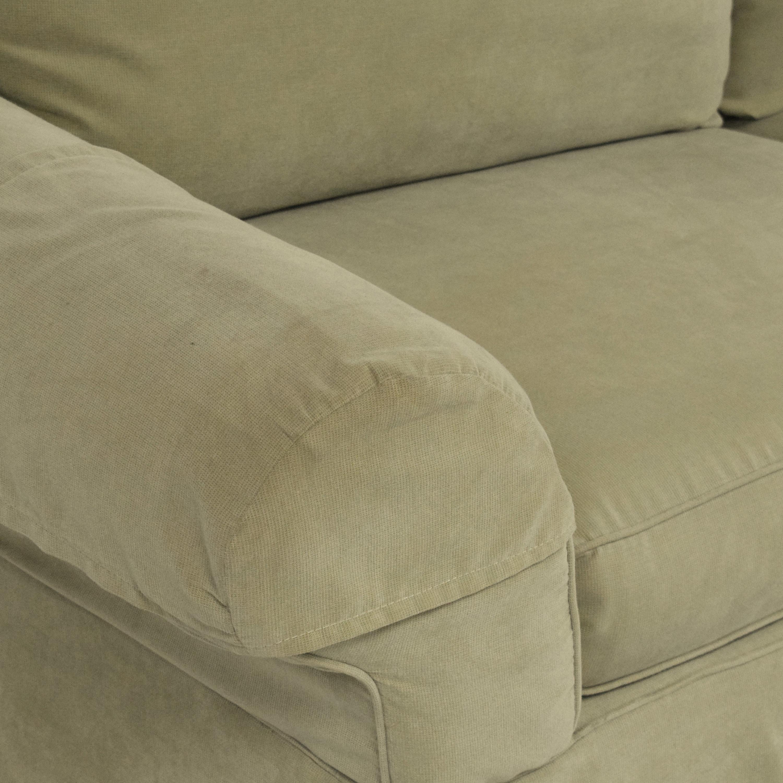 Clayton Marcus Clayton Marcus Skirted Two Cushion Sofa second hand
