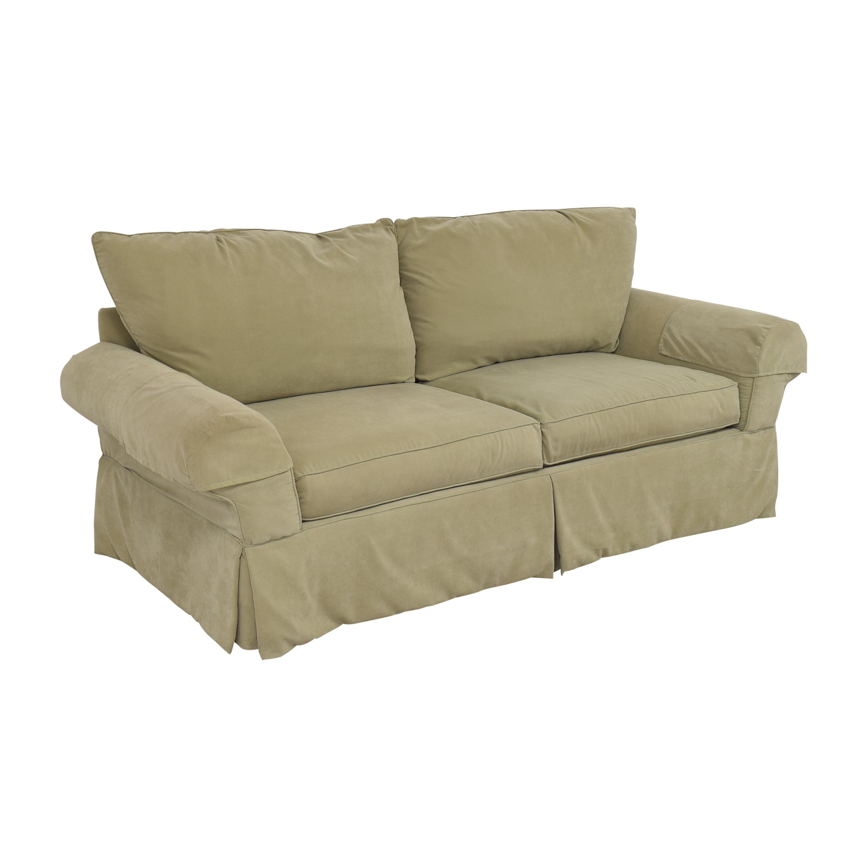 Clayton Marcus Skirted Two Cushion Sofa / Classic Sofas