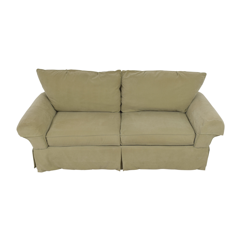 Clayton Marcus Clayton Marcus Skirted Two Cushion Sofa nj