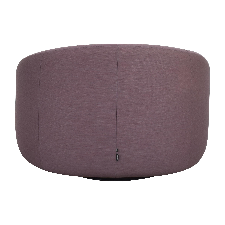 shop Ligne Roset Ligne Roset by Pierre Paulin Pumpkin Swivelling Arm Chair with Ottoman online