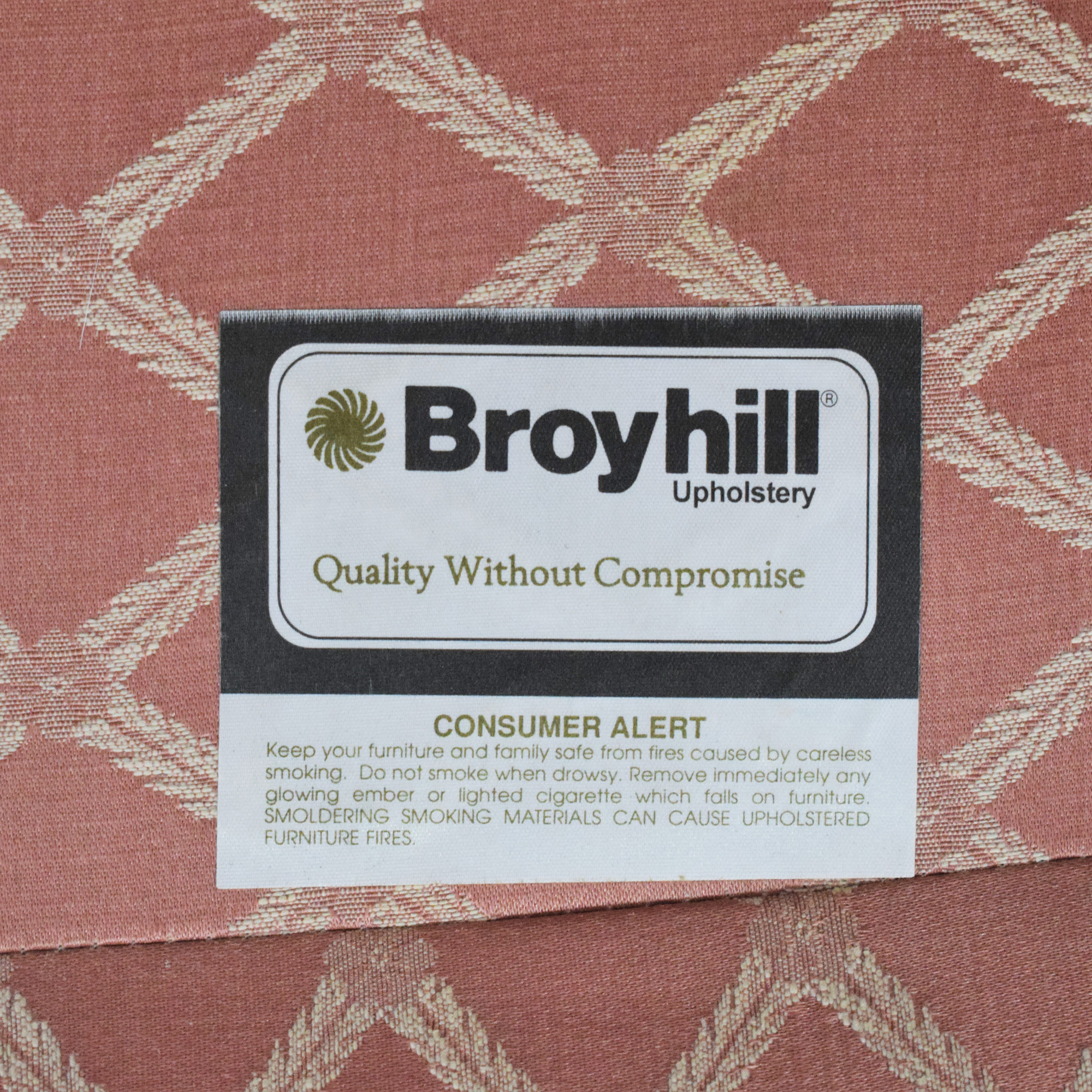 Broyhill Furniture Broyhill Wingback Accent Chair ma