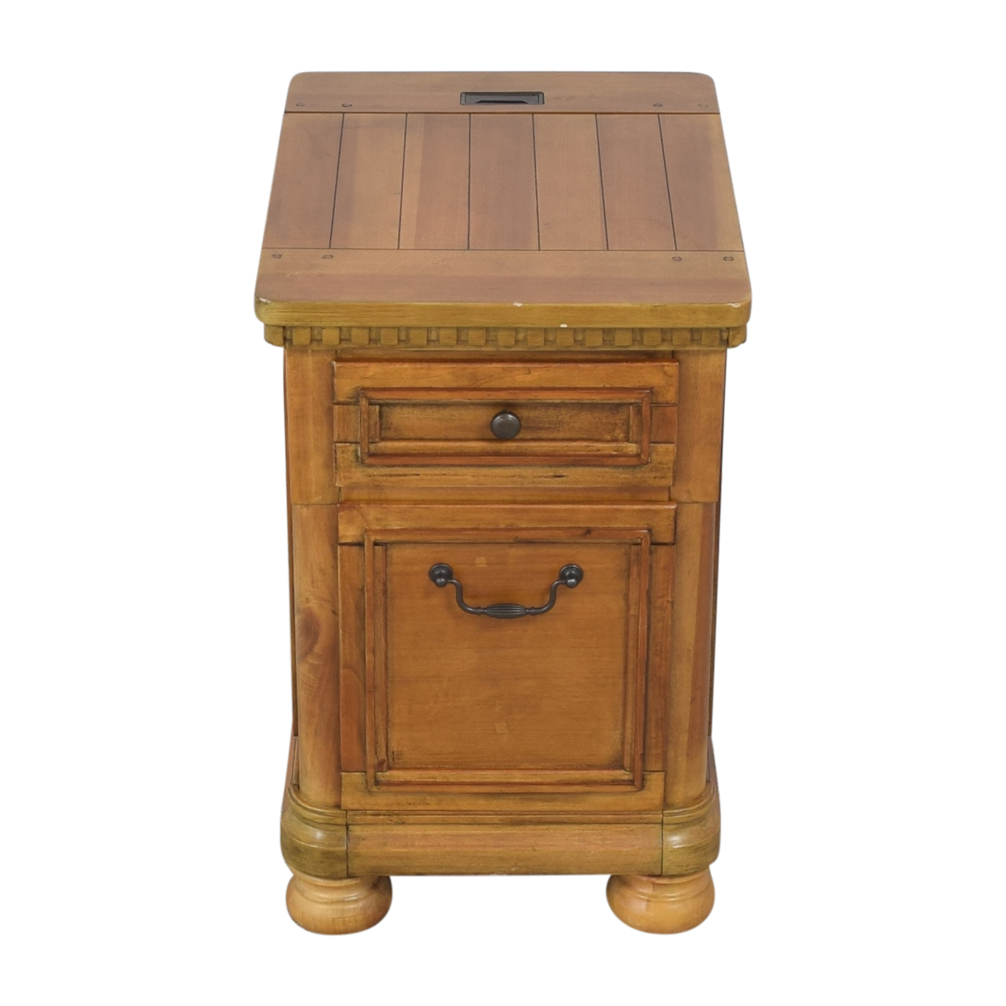 Two Drawer End Table / Tables