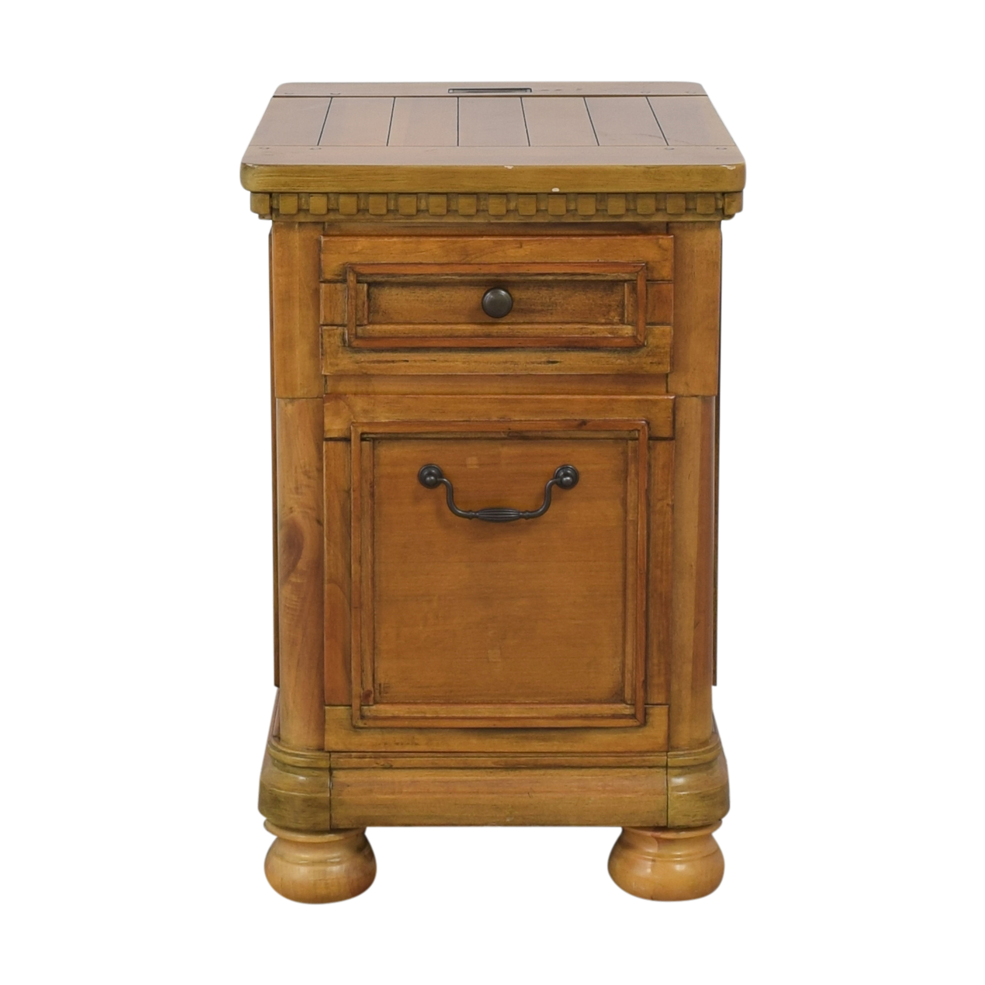 Two Drawer End Table / End Tables