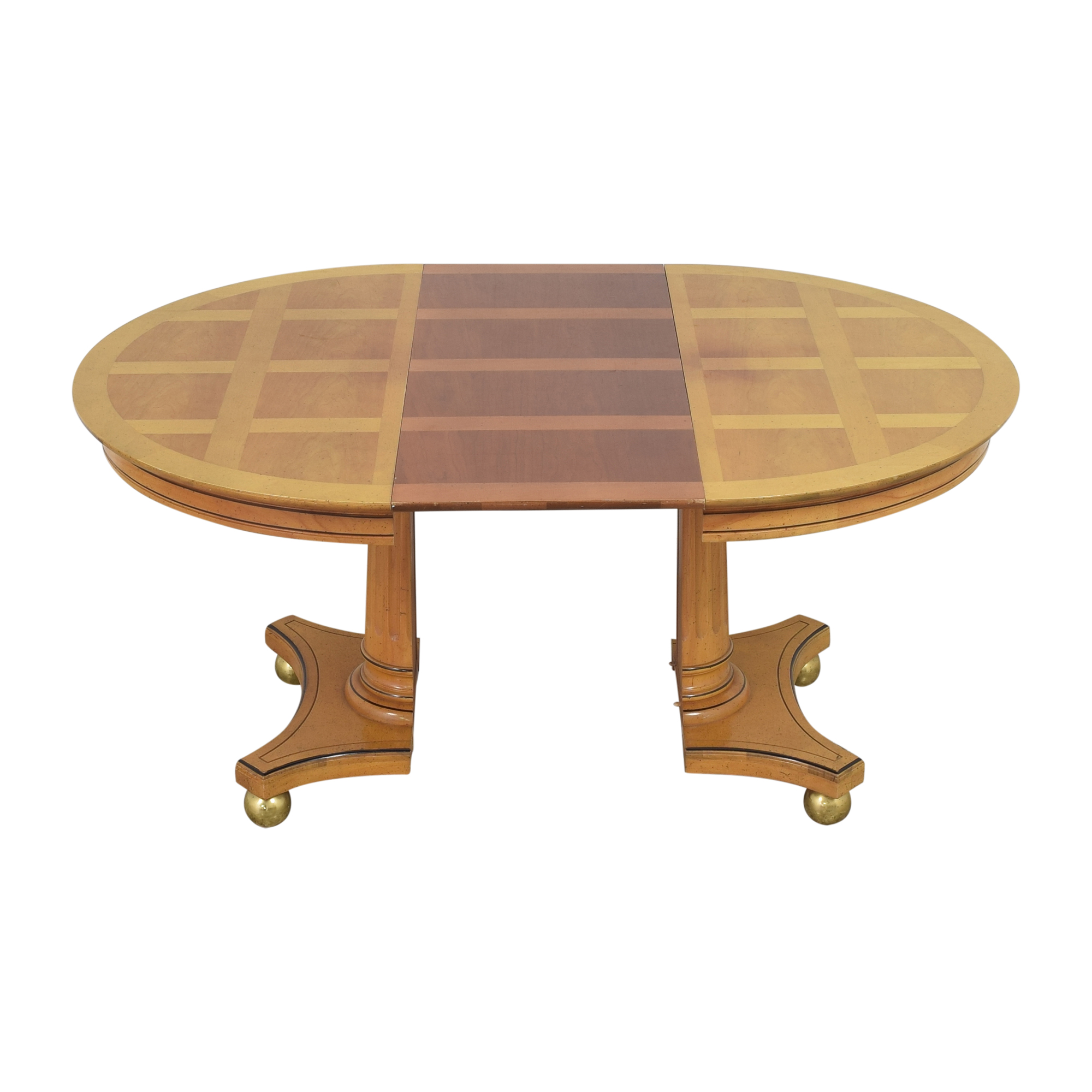 Jefferson Wood Working Jefferson Wood Working Extendable Round Dining Table coupon