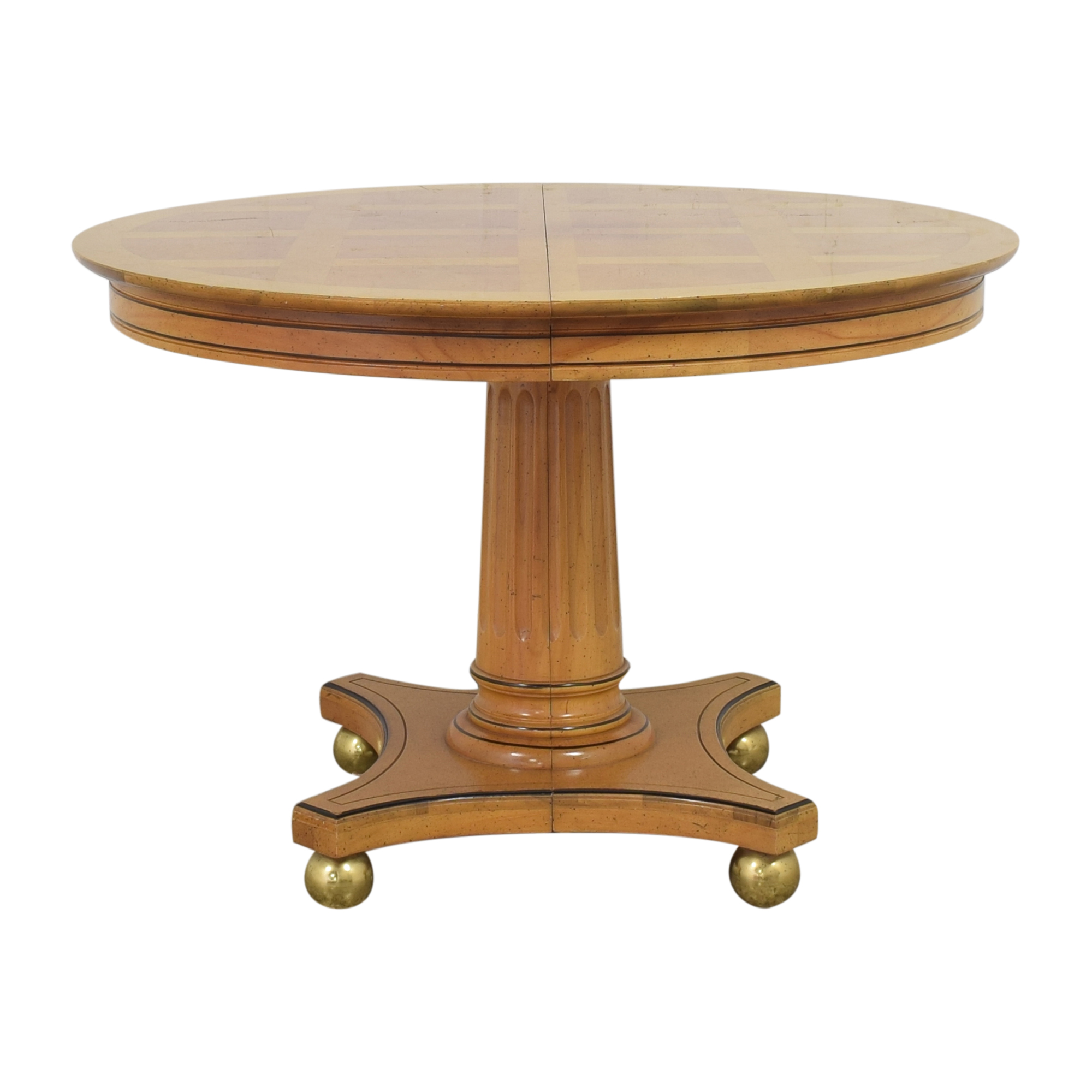 buy Jefferson Wood Working Extendable Round Dining Table Jefferson Wood Working Dinner Tables