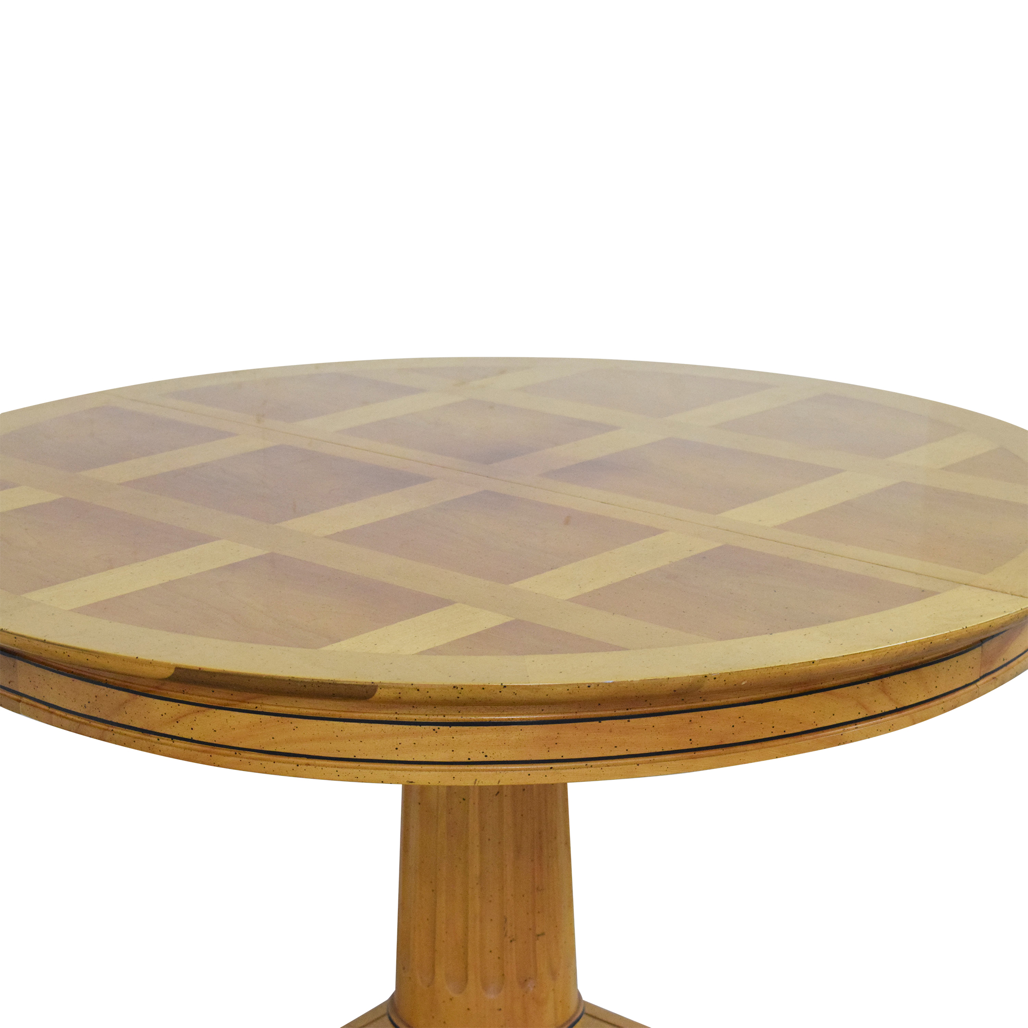buy Jefferson Wood Working Extendable Round Dining Table Jefferson Wood Working Tables