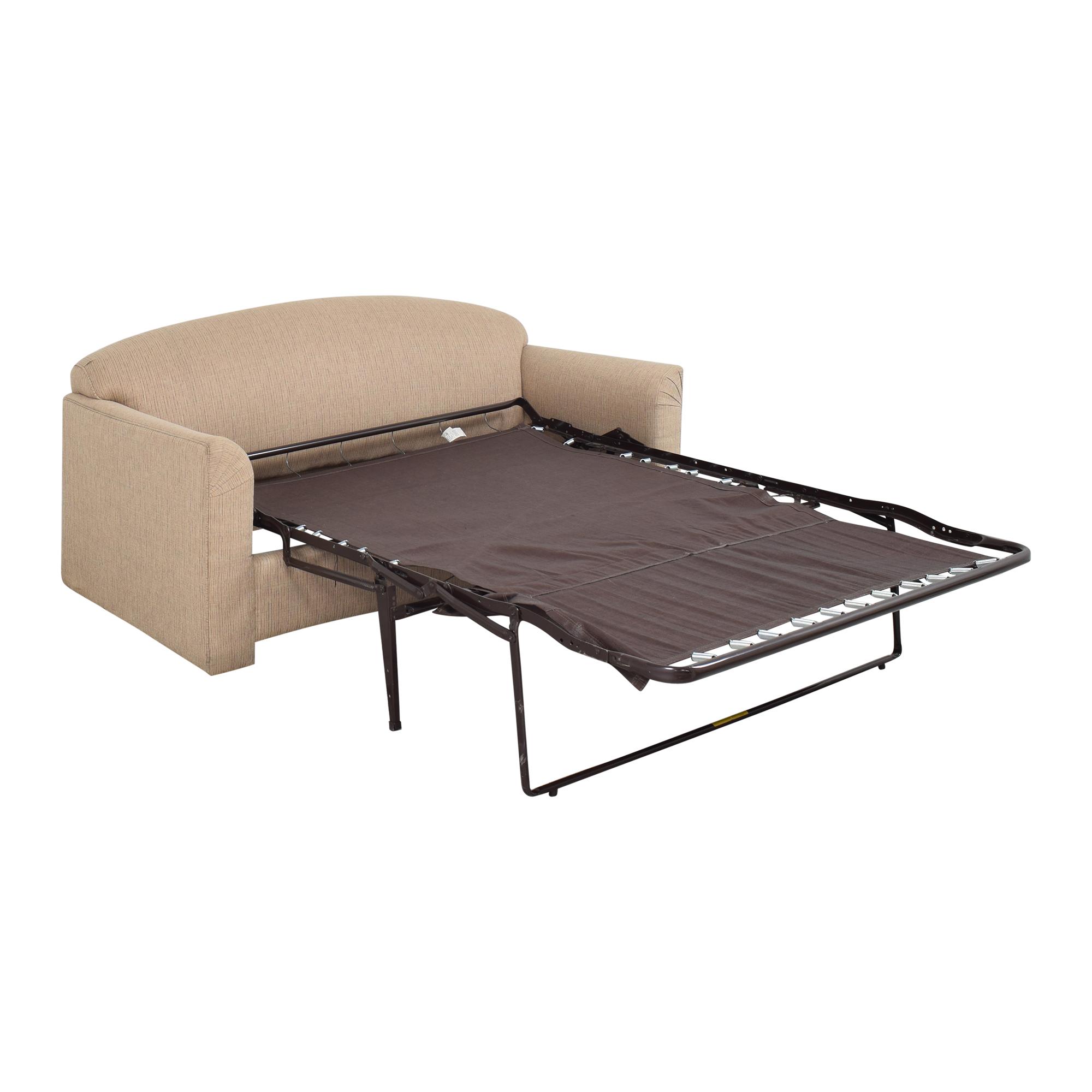 buy Simmons Two Cushion Sleeper Sofa Simmons