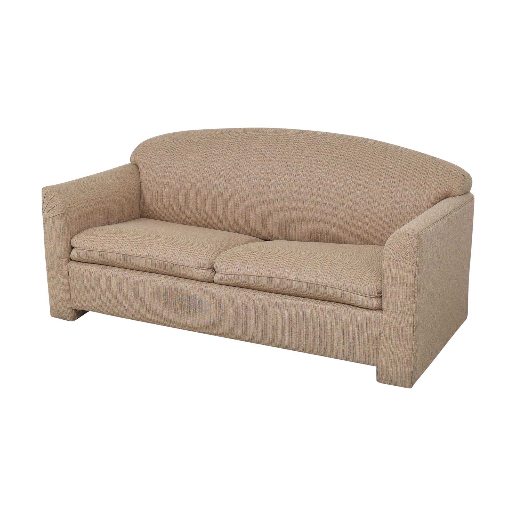 Simmons Two Cushion Sleeper Sofa Simmons