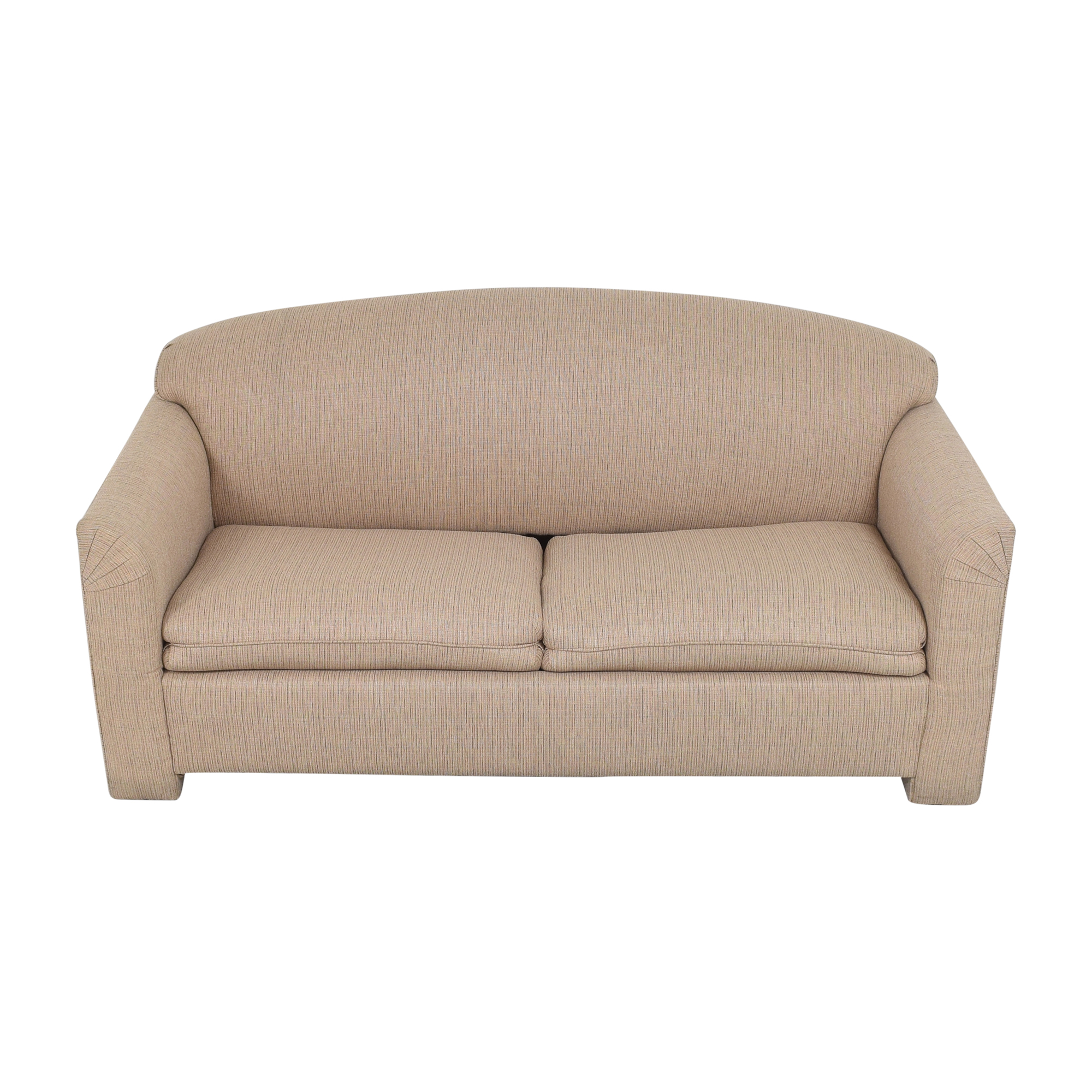 Simmons Simmons Two Cushion Sleeper Sofa on sale