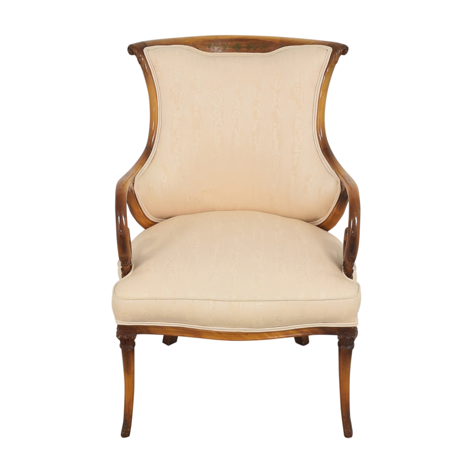 Decorative Upholstered Arm Chair Chairs