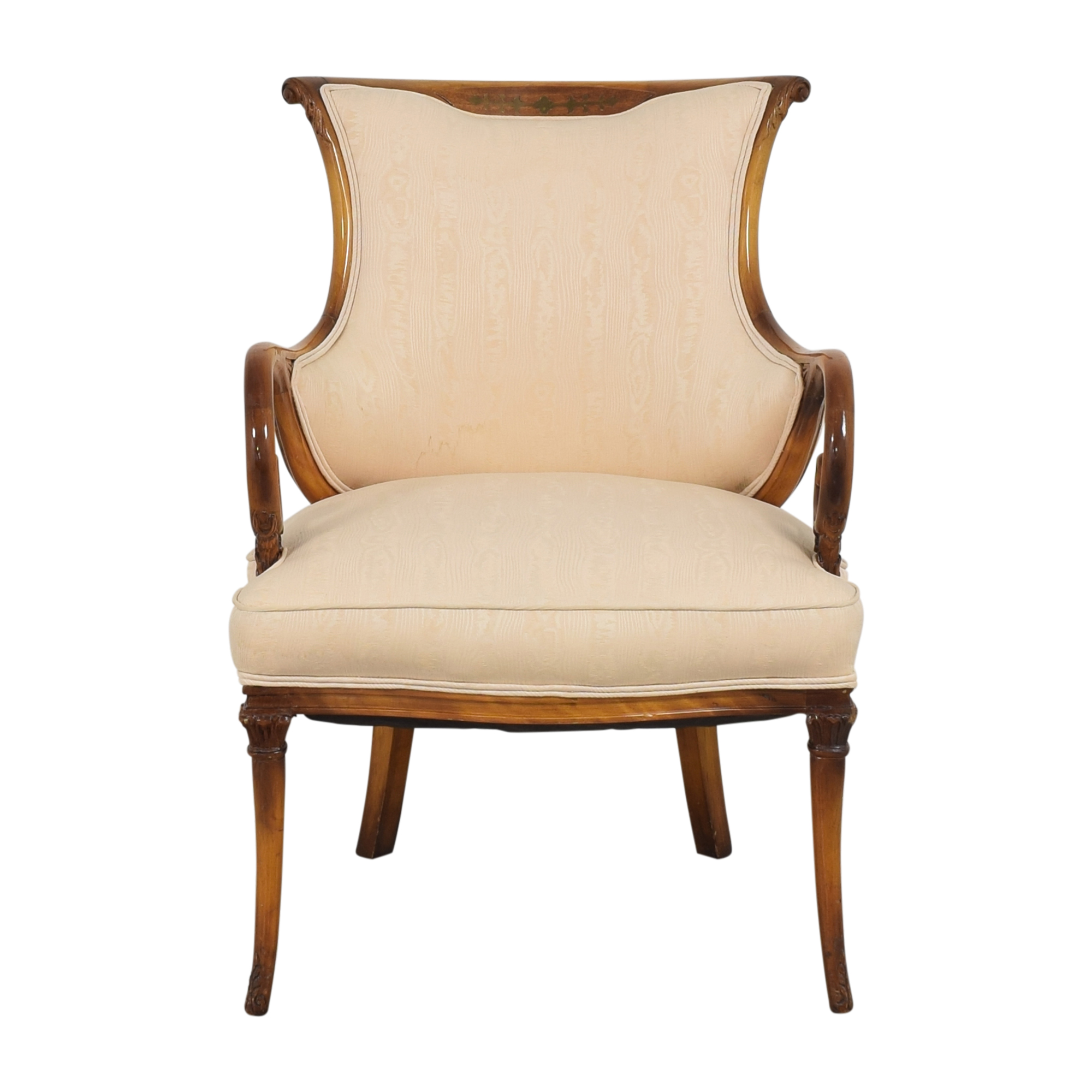 Decorative Upholstered Arm Chair sale